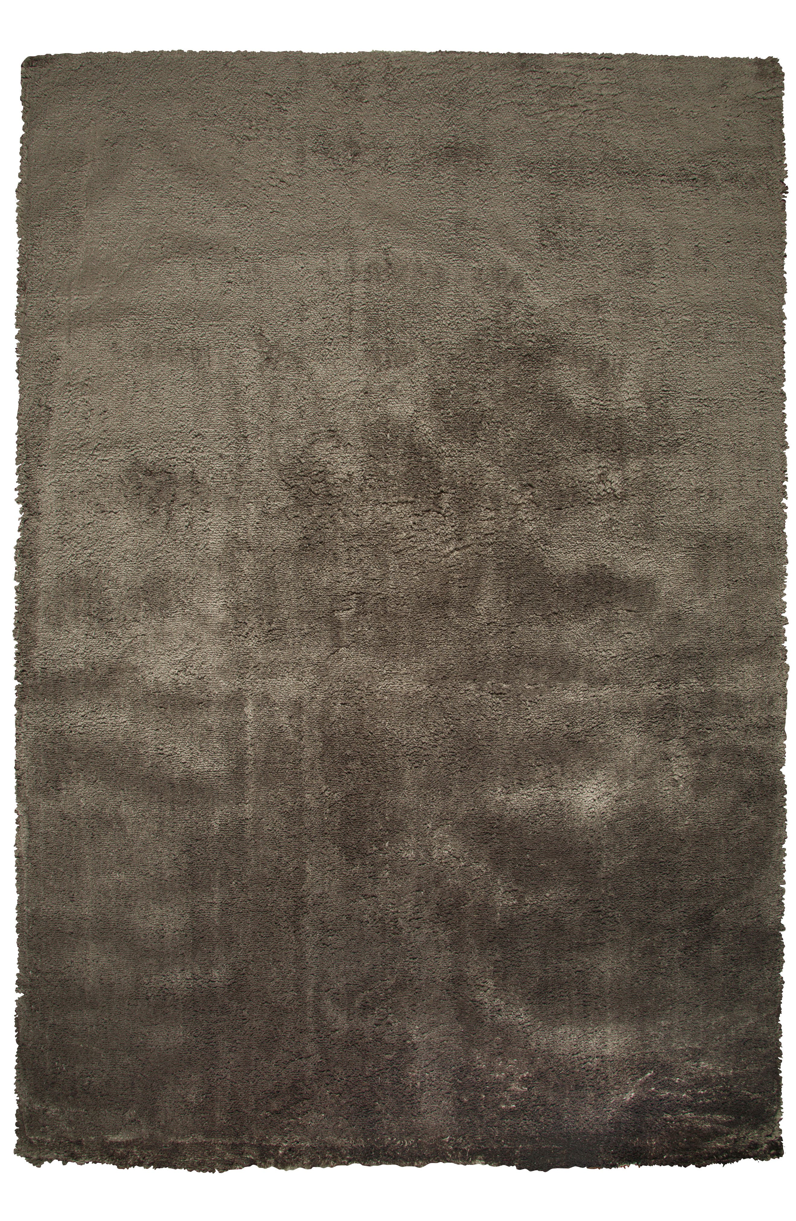 Calgary Plush Shag Area Rug,                             Main thumbnail 1, color,                             Brown