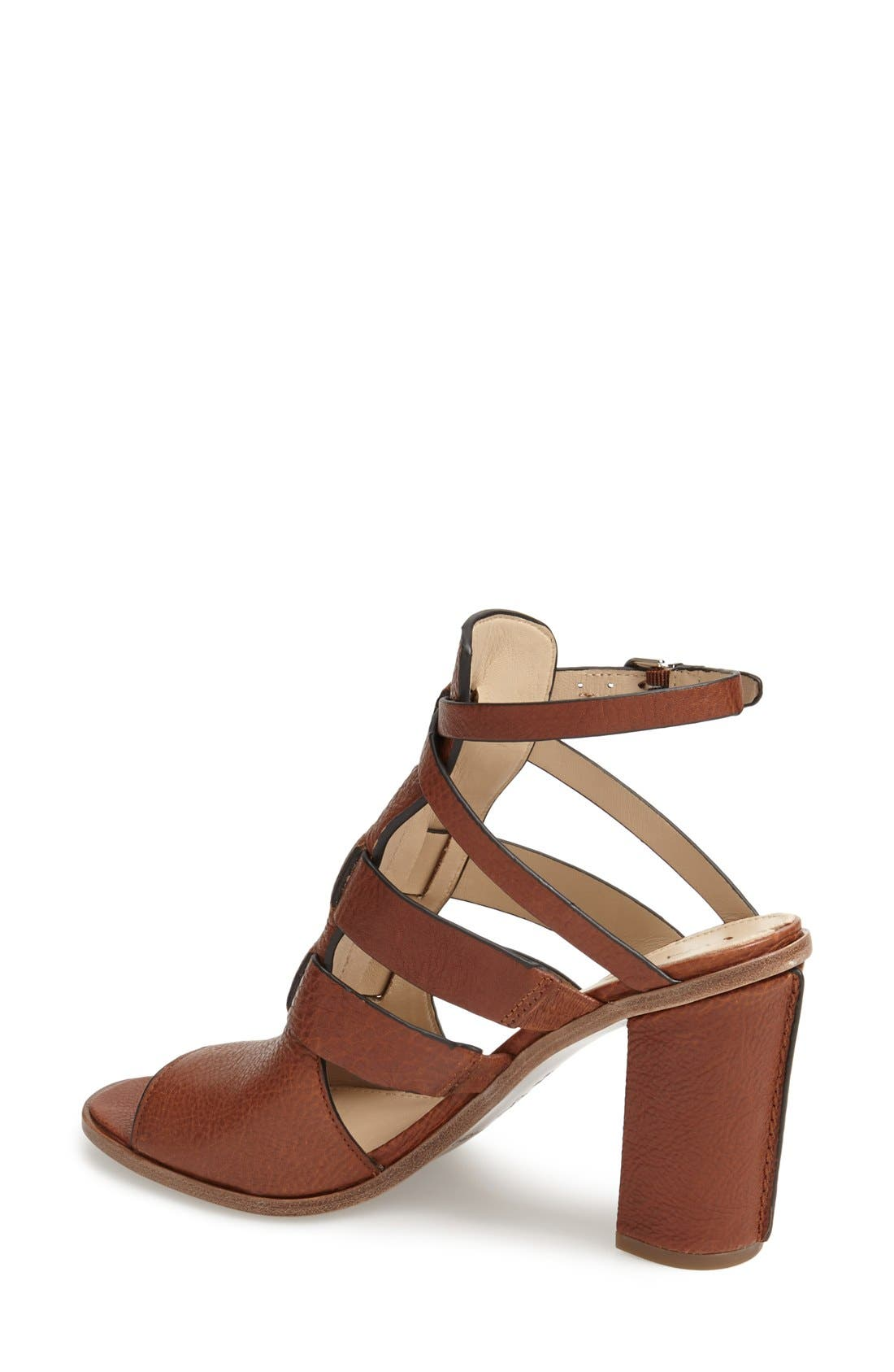 Alternate Image 2  - Via Spiga 'Brandina' Leather Sandal (Women)