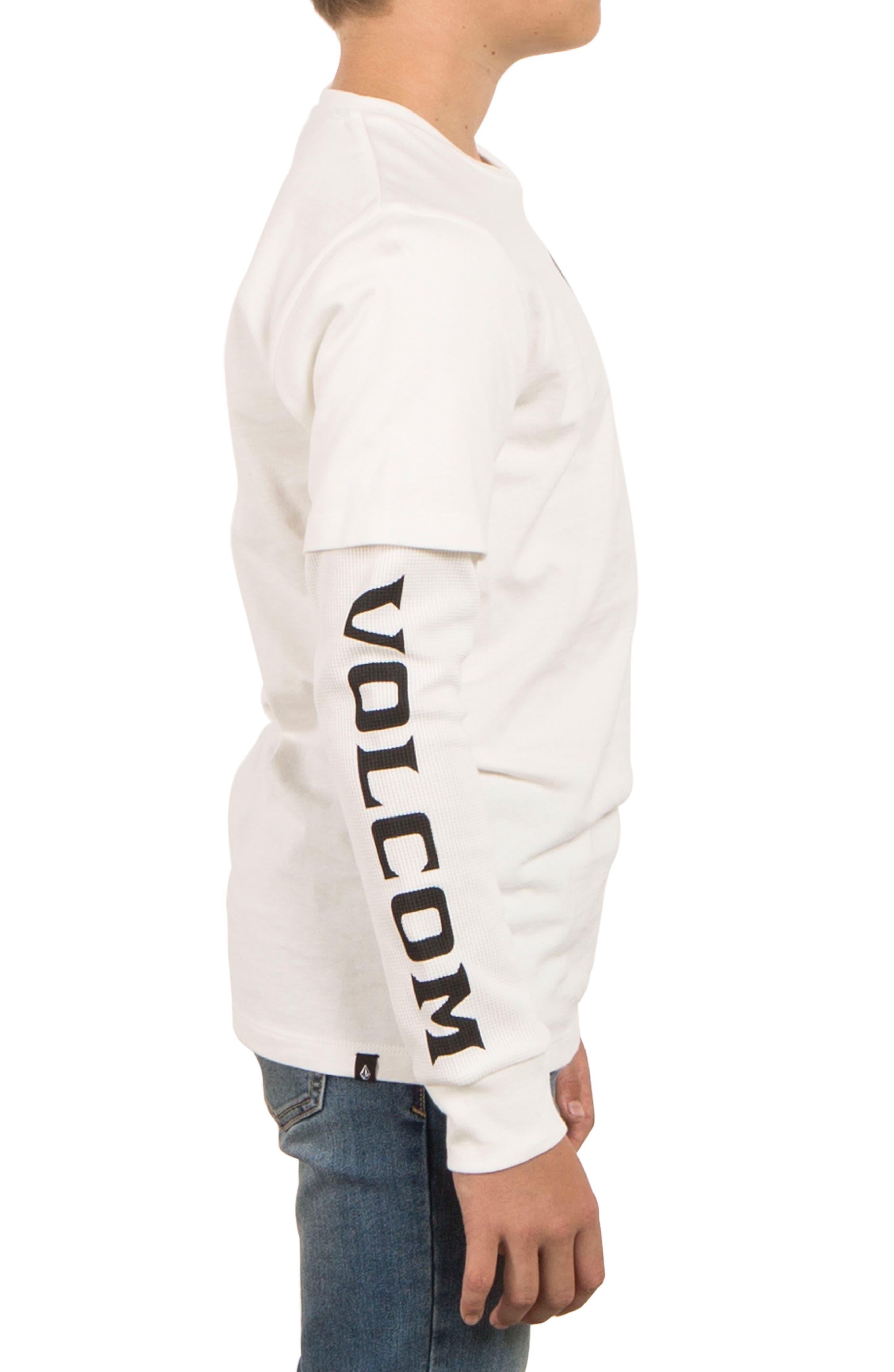Alternate Image 3  - Volcom Easton Long Sleeve T-Shirt (Big Boys)