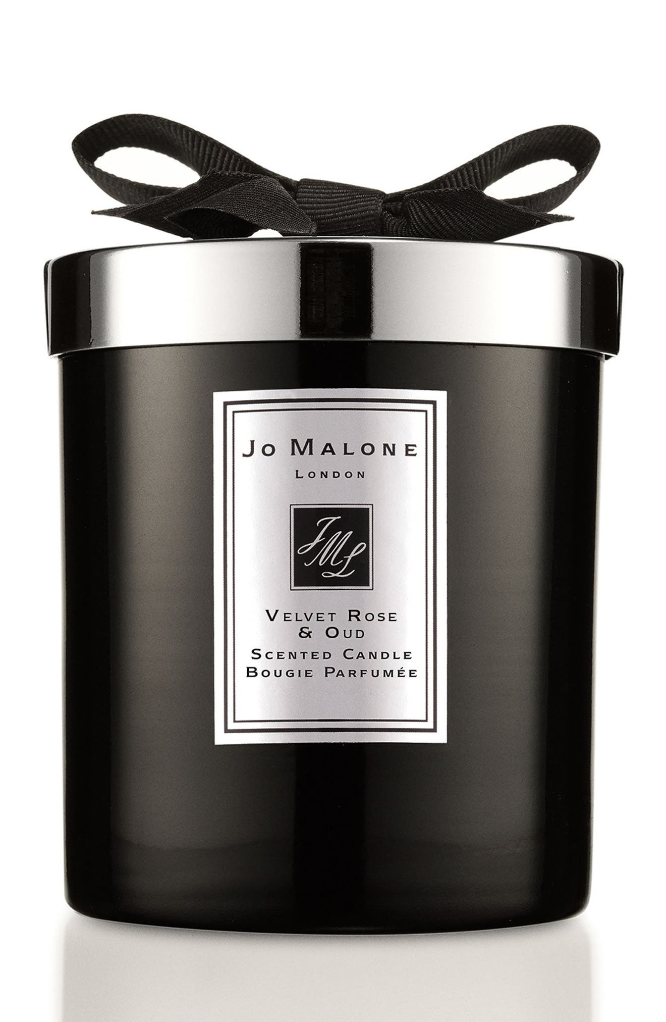 Jo Malone<sup>™</sup> Velvet Rose & Oud Home Candle,                             Main thumbnail 1, color,                             No Color