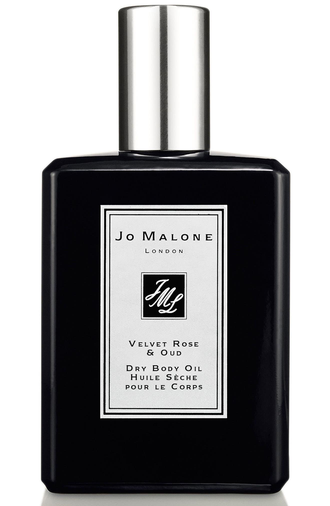 Velvet Rose & Oud Dry Body Oil,                         Main,                         color, No Color