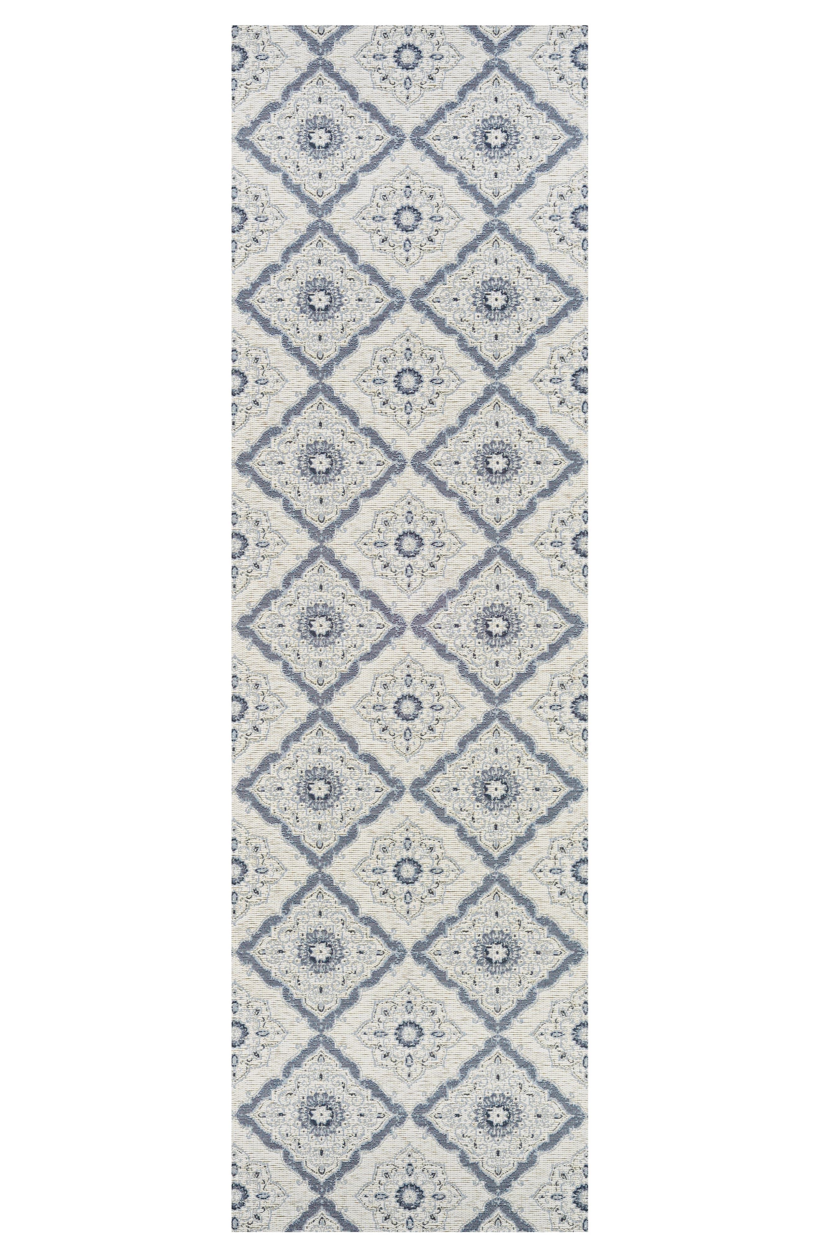 Brindisi Indoor/Outdoor Rug,                             Alternate thumbnail 2, color,                             Ivory/ Grey