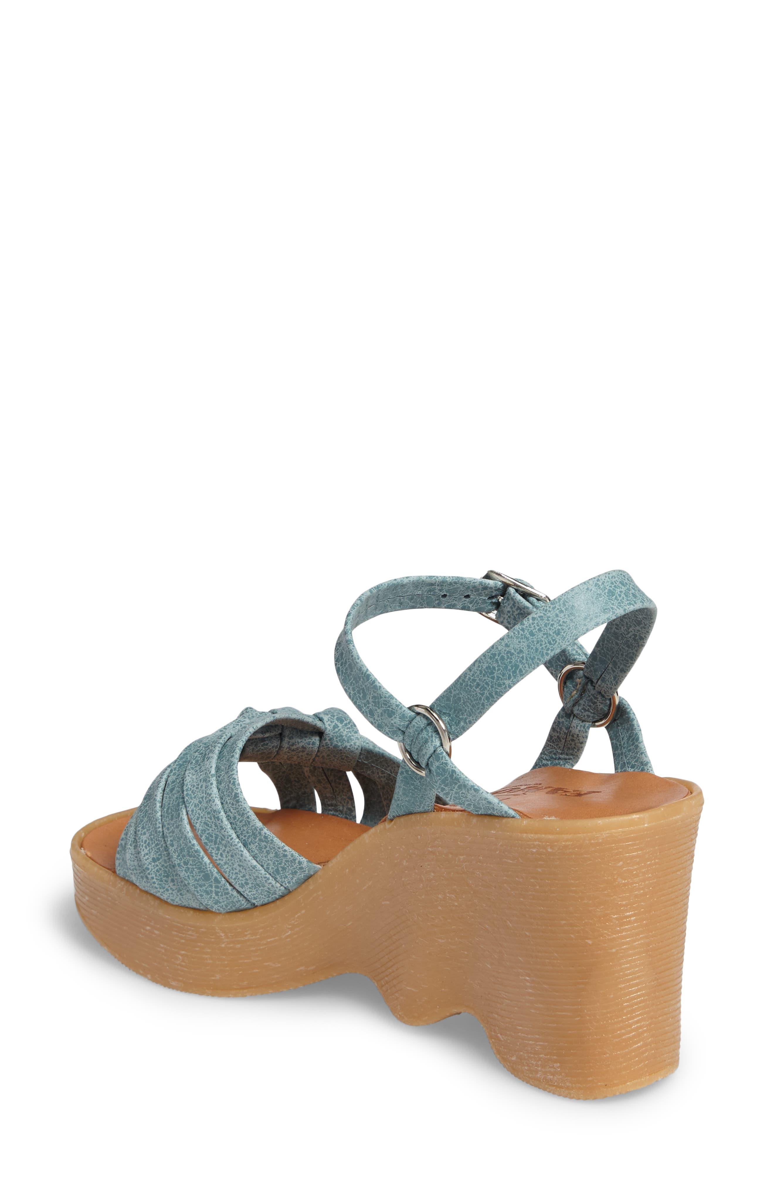 Alternate Image 2  - Famolare Knot So Fast Wedge Sandal (Women)