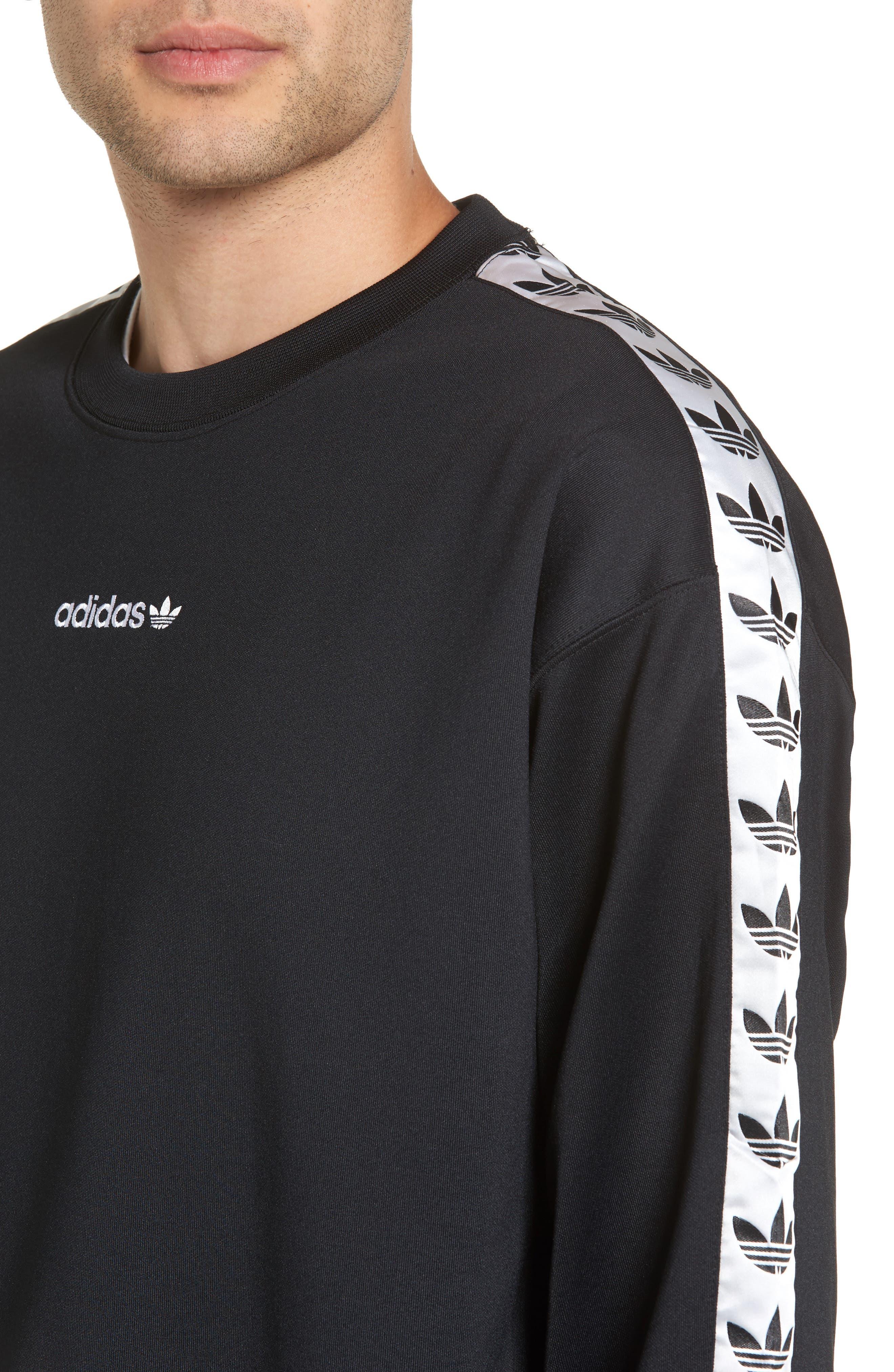 Alternate Image 4  - adidas Originals TNT Trefoil Sweatshirt