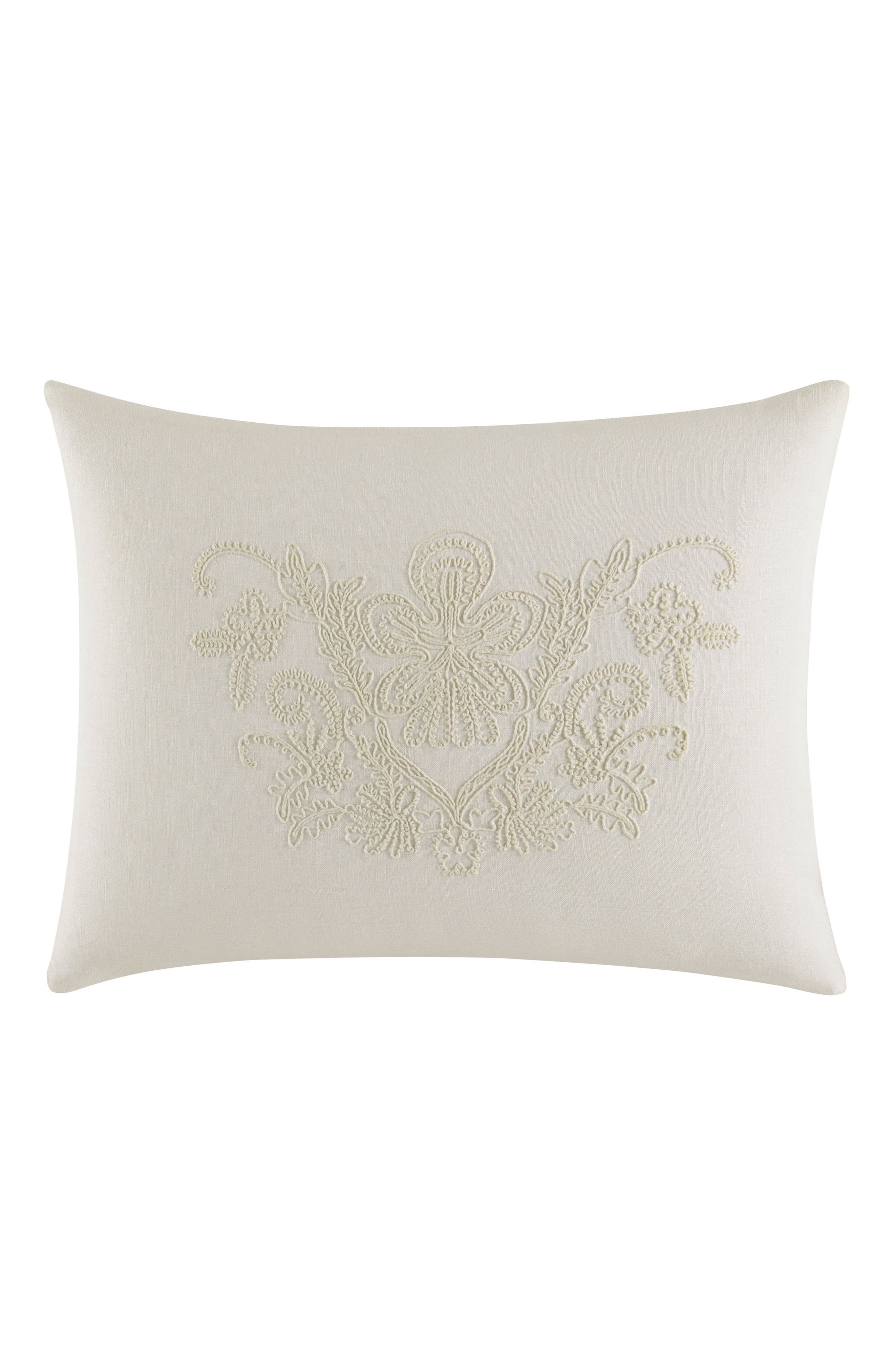 Main Image - Vera Wang Passementerie Breakfast Linen Accent Pillow