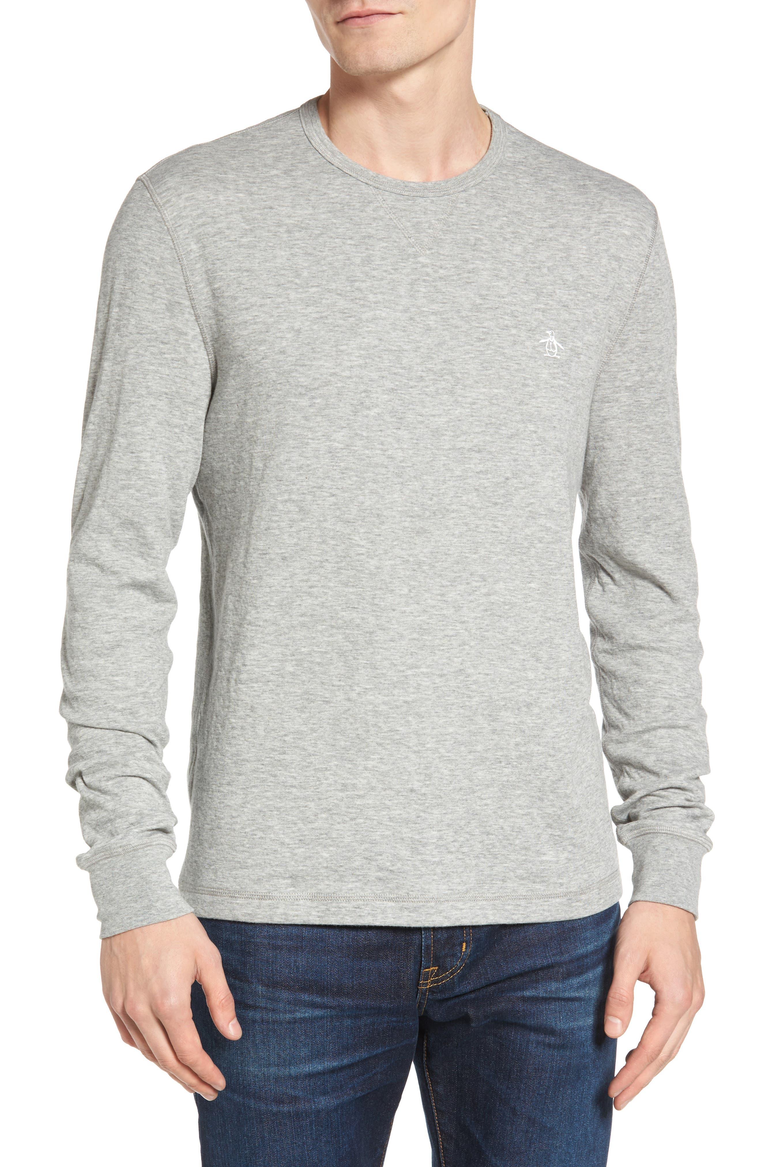 Original Penguin Reversible Long Sleeve T-Shirt