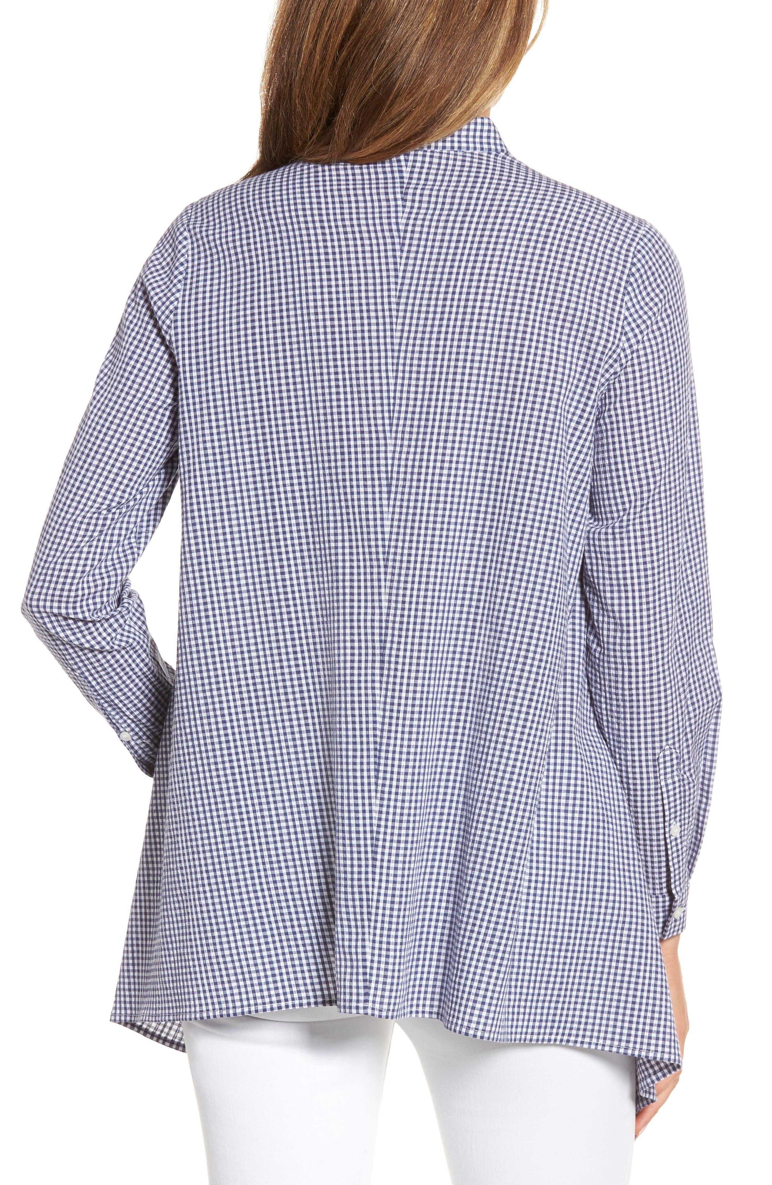 Shirt,                             Alternate thumbnail 2, color,                             Eton Blue/ Optic White