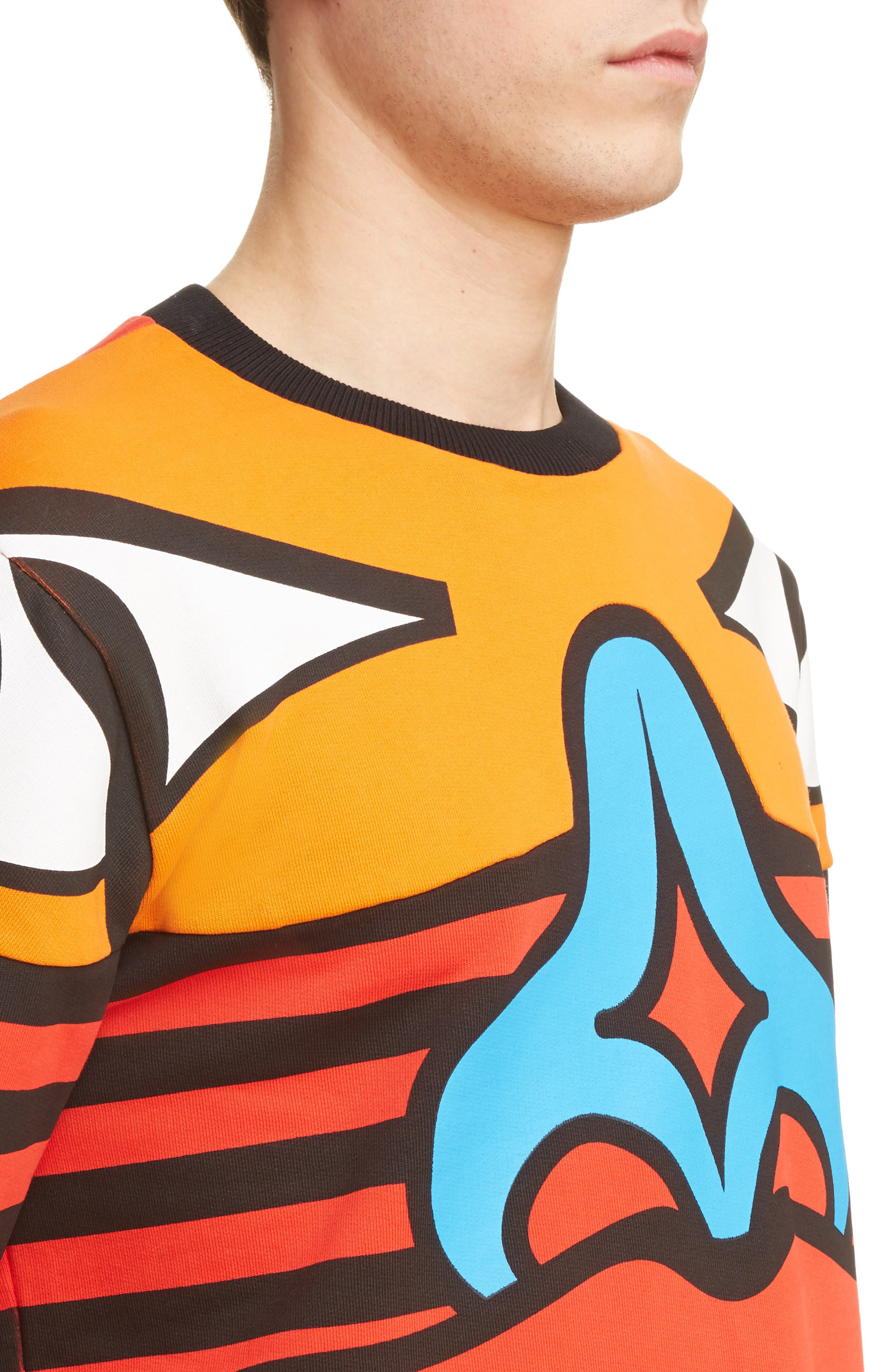 Alternate Image 4  - Givenchy Runway Totem Sweatshirt