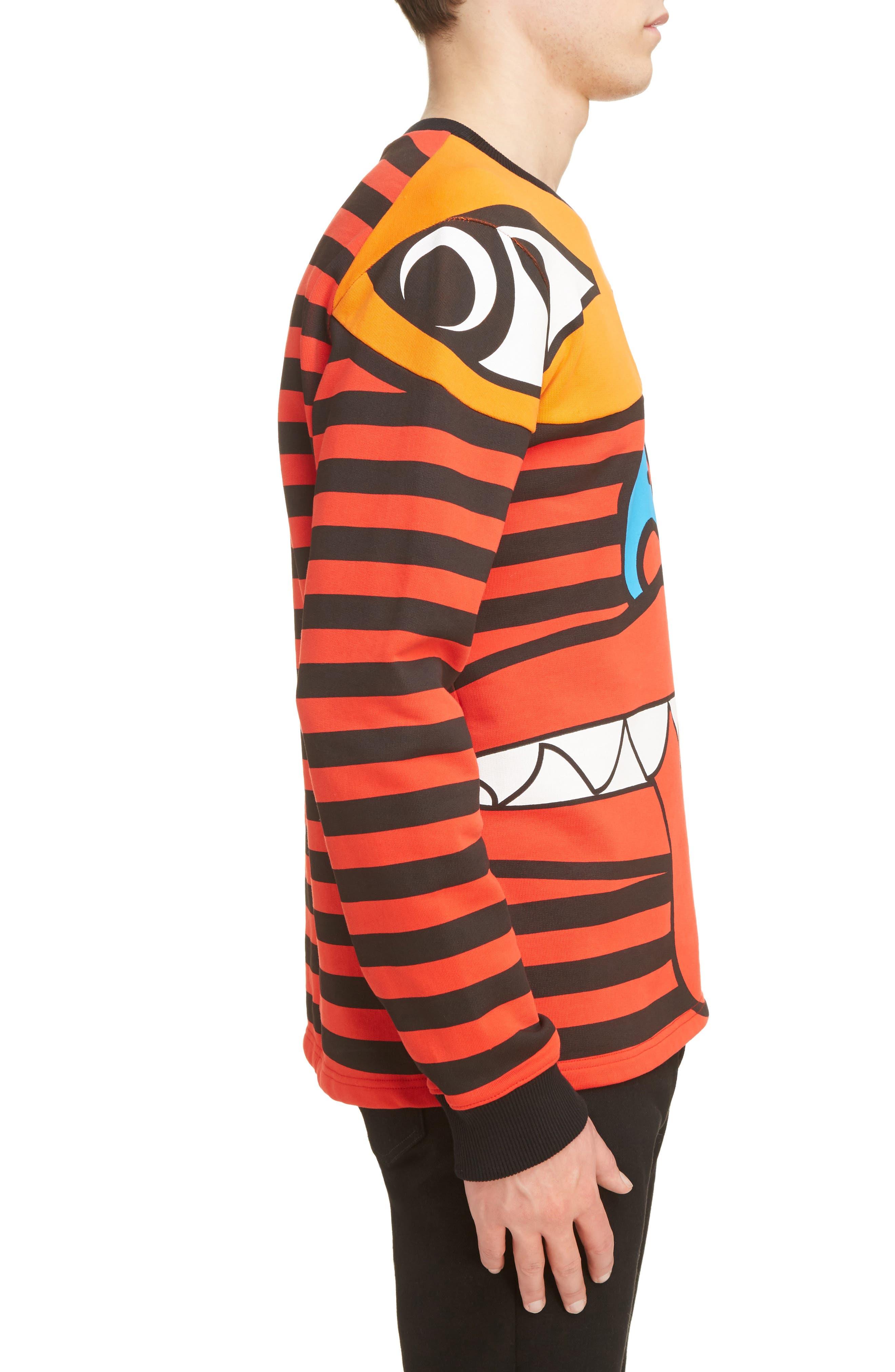 Alternate Image 3  - Givenchy Runway Totem Sweatshirt