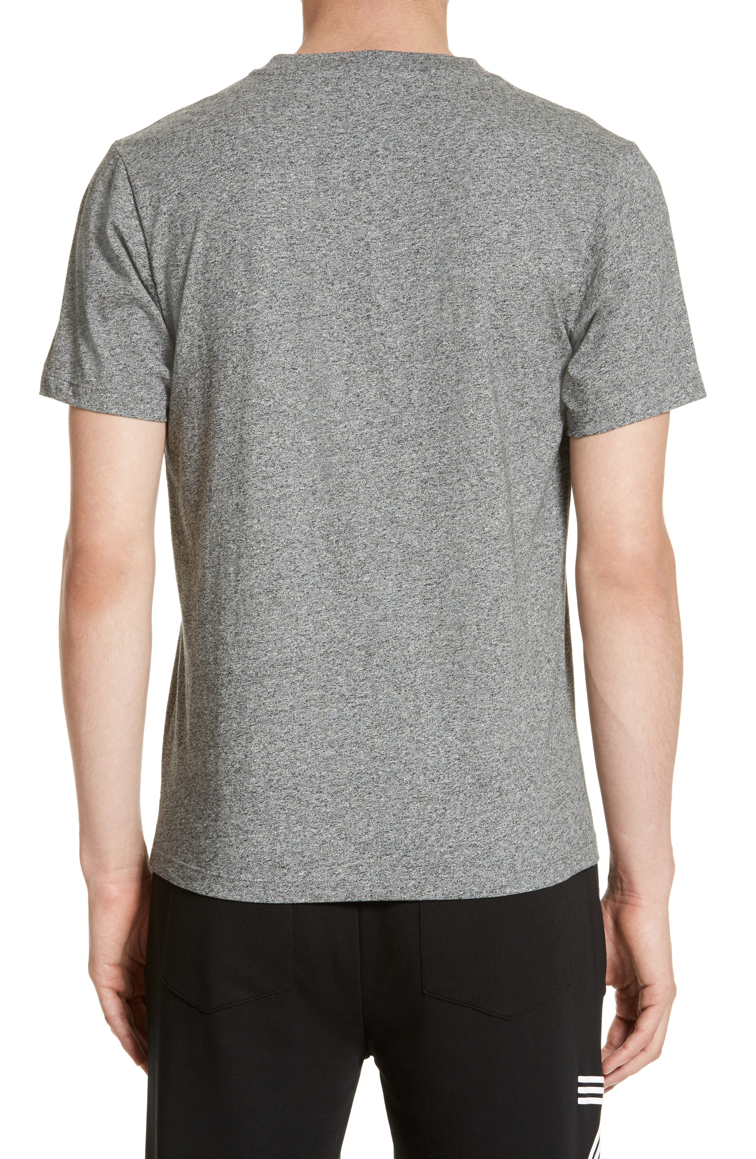 Embroidered Eye T-Shirt,                             Alternate thumbnail 2, color,                             Antracite