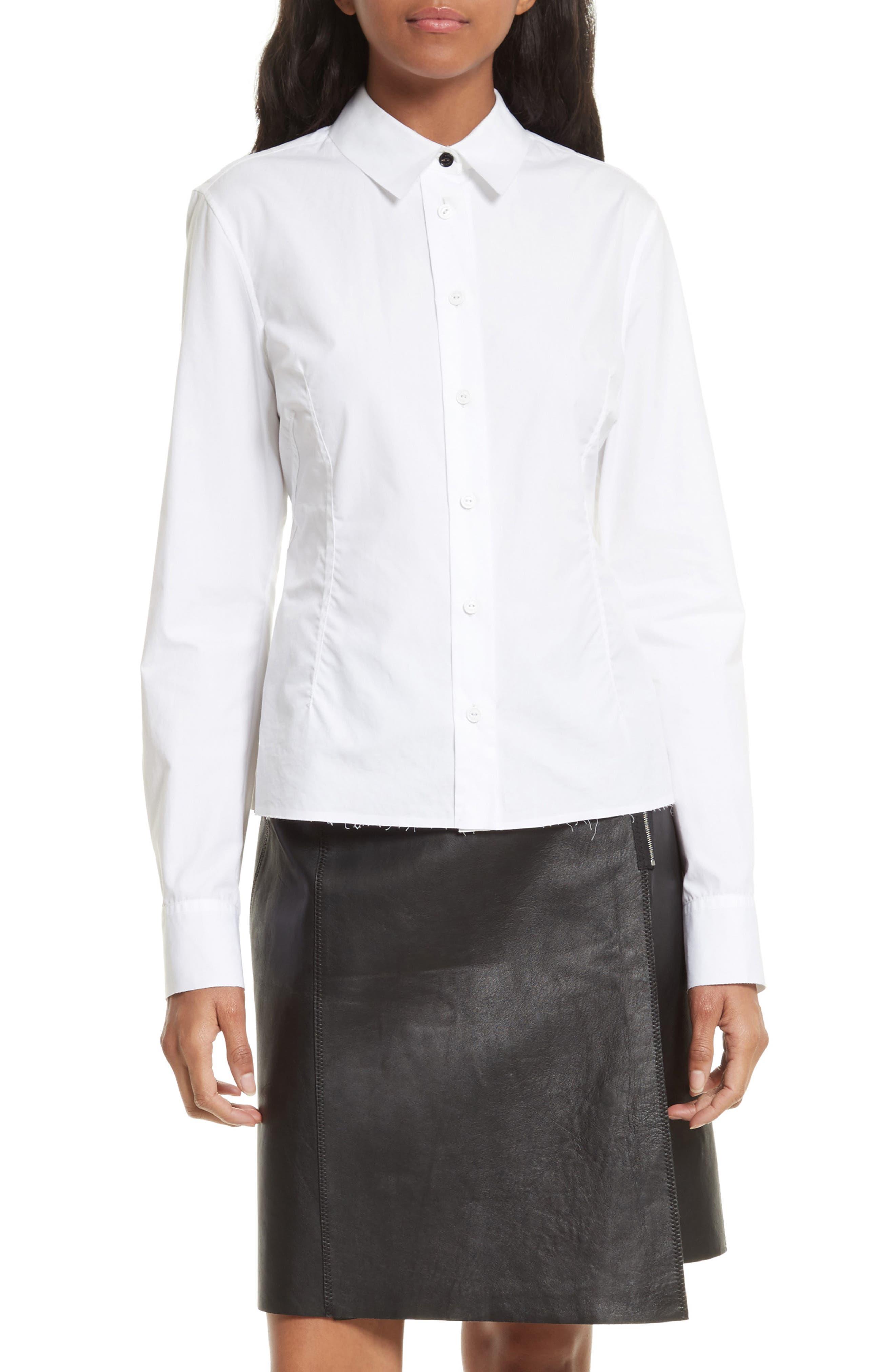 Albion Shirt,                         Main,                         color, White