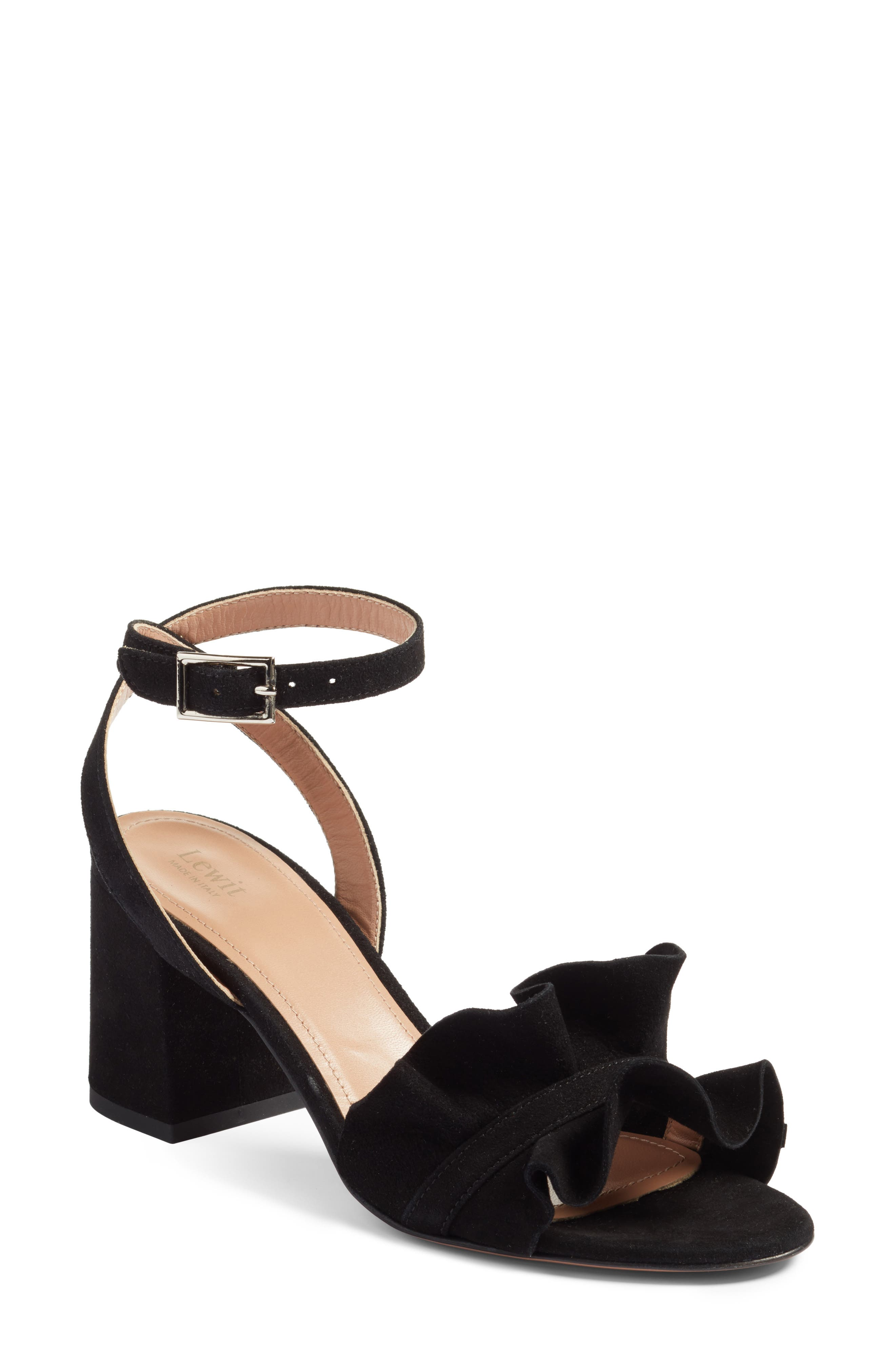 Main Image - Lewit Lucina Ankle Strap Sandal (Women)