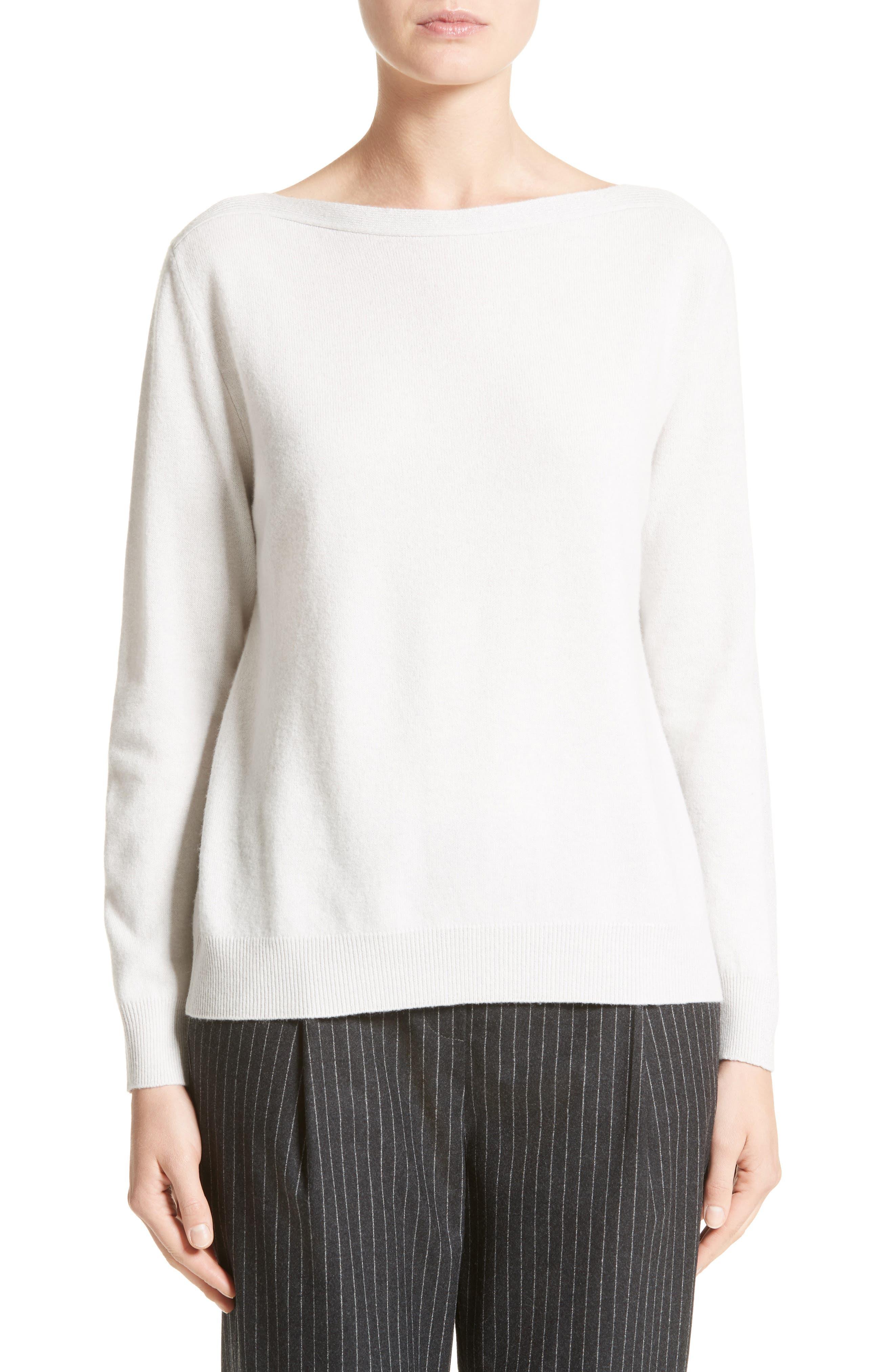 Alternate Image 1 Selected - Fabiana Filippi Wool, Silk & Cashmere Sweater