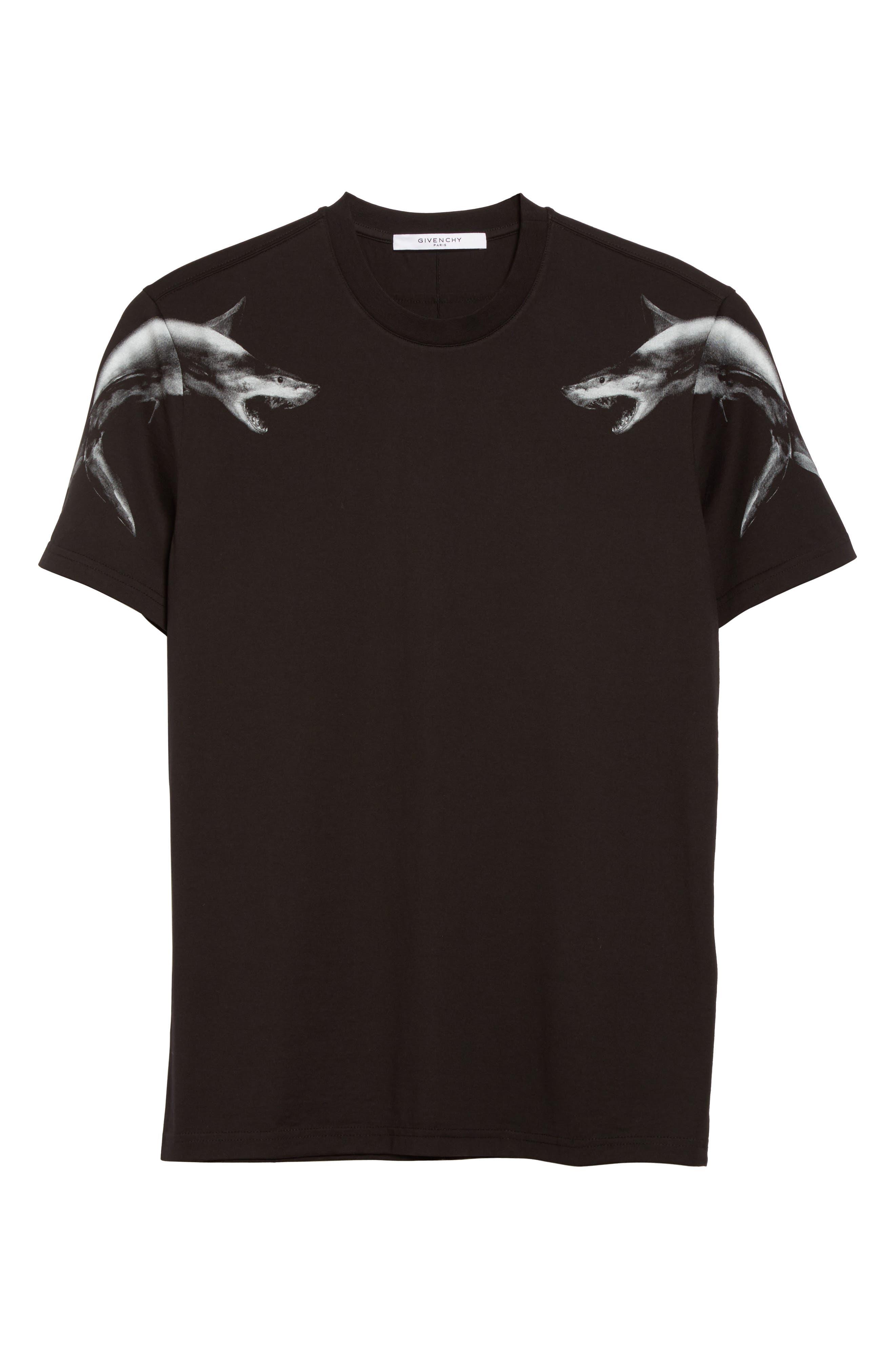 Cuban Fit Graphic T-Shirt,                             Alternate thumbnail 6, color,                             Black
