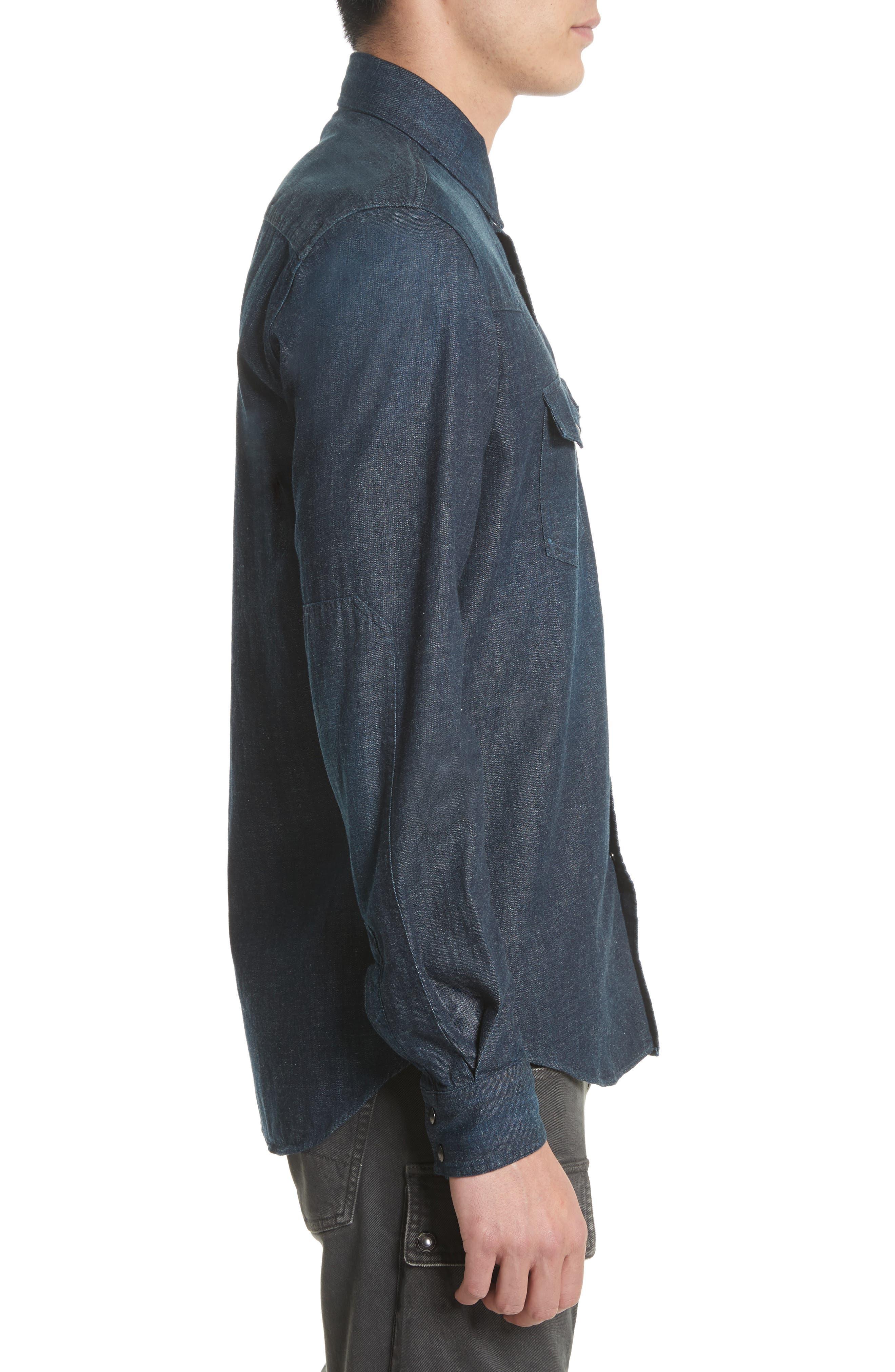 Alternate Image 3  - Belstaff Somerford Denim Sport Shirt