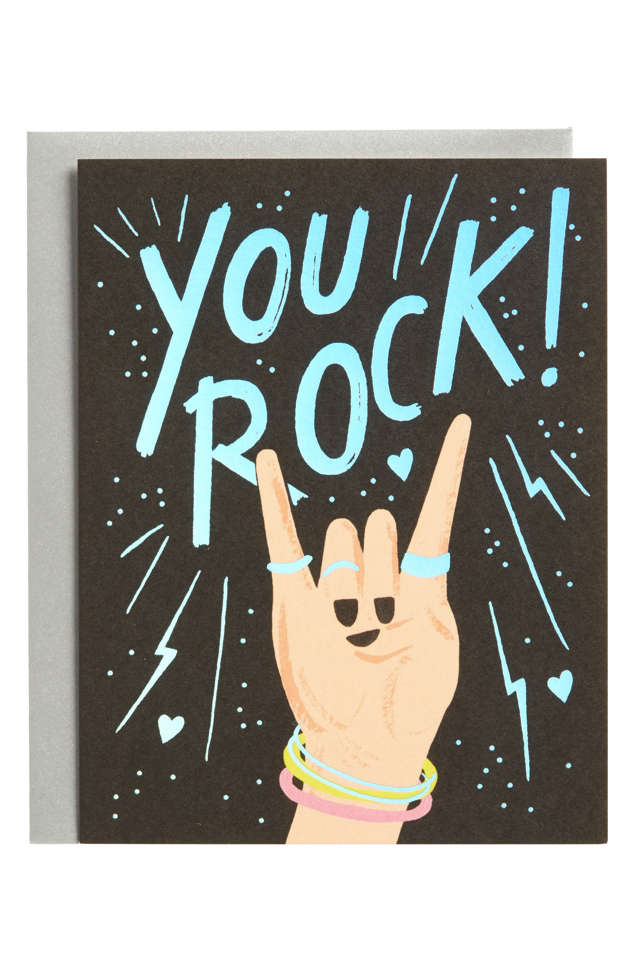 Rifle Paper Co. You Rock Set of 8 Note Cards