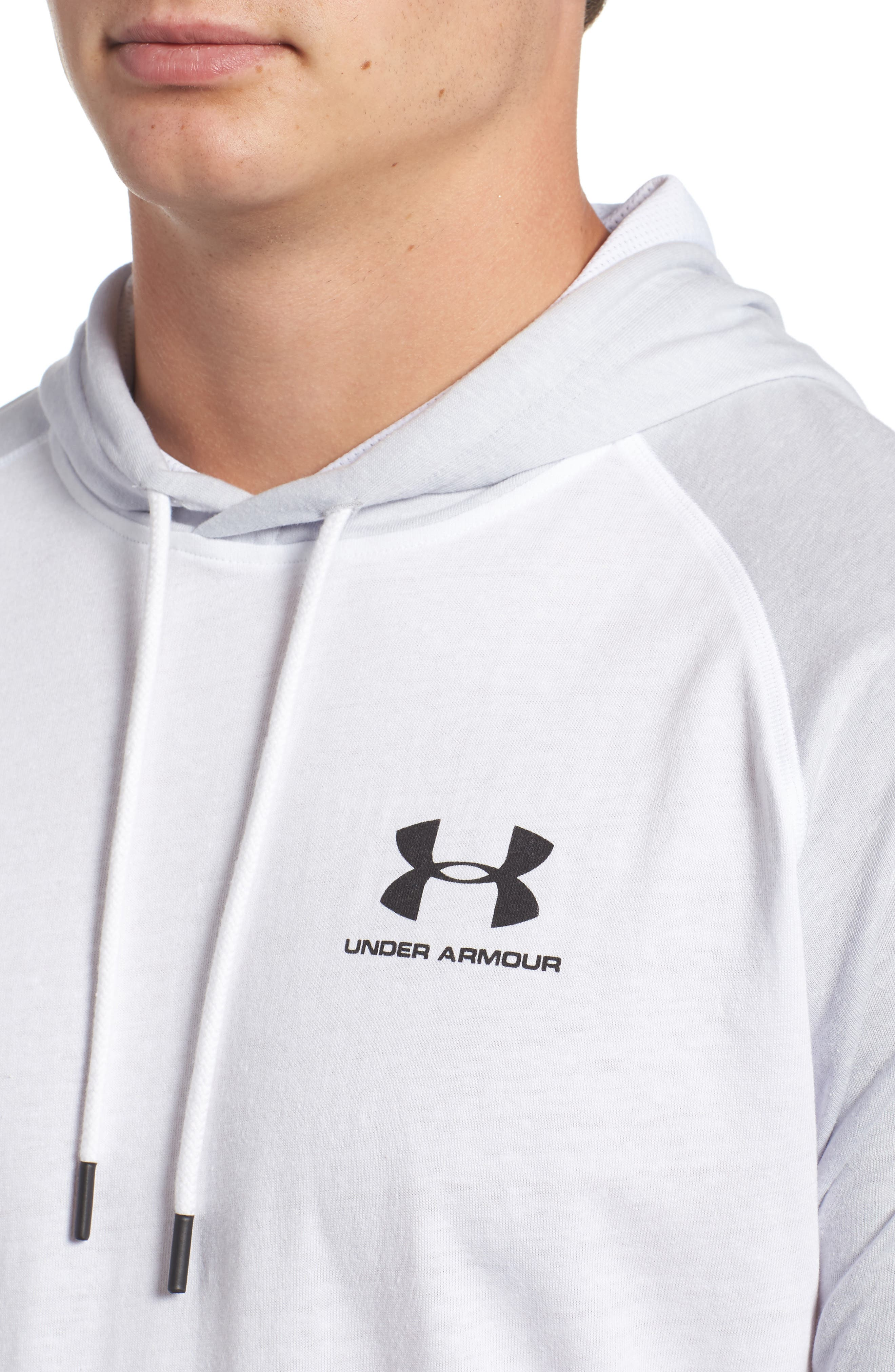 Alternate Image 4  - Under Armour Sportstyle Hoodie