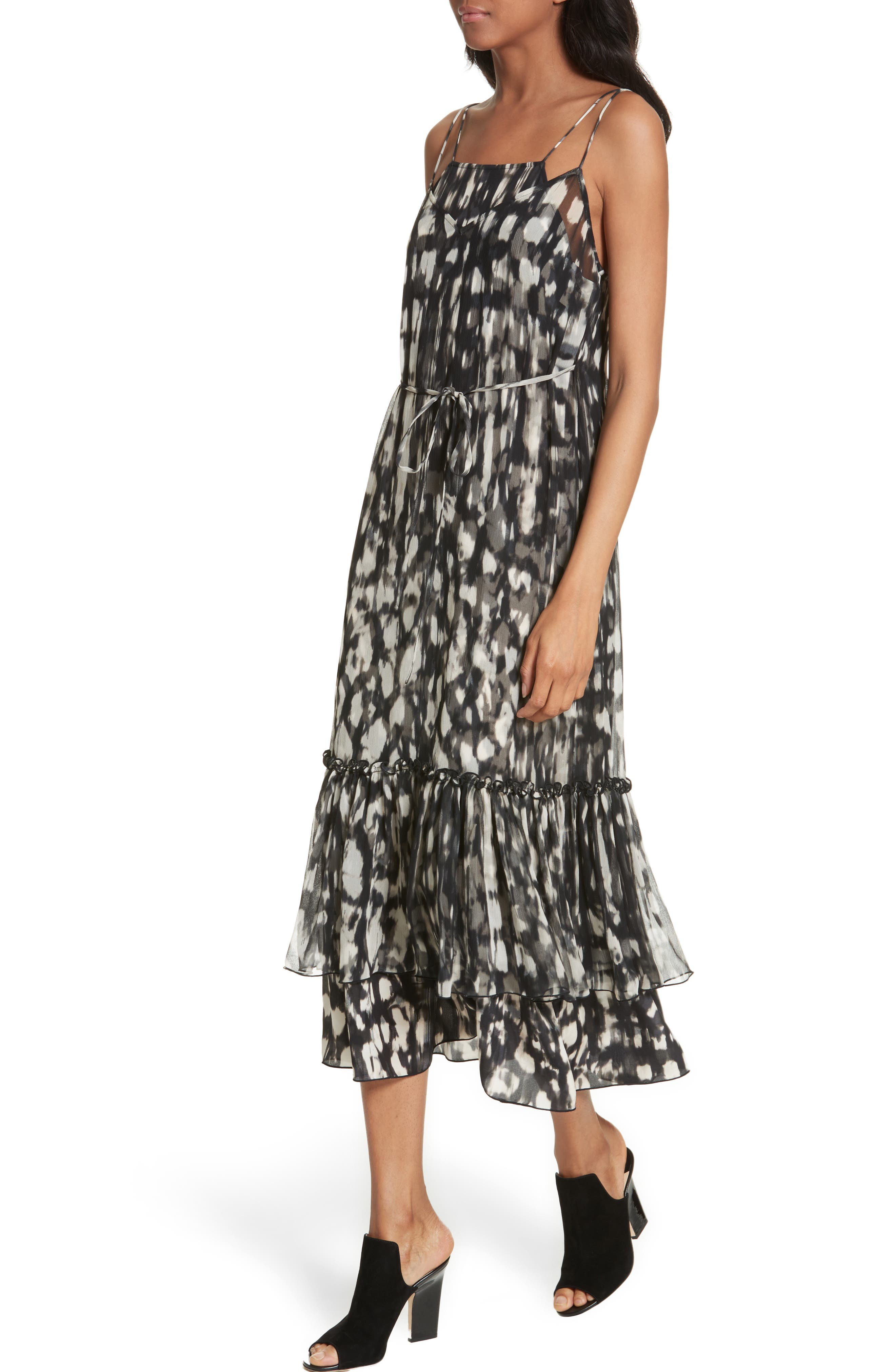 Alternate Image 4  - Tracy Reese Double Layer Silk Slipdress