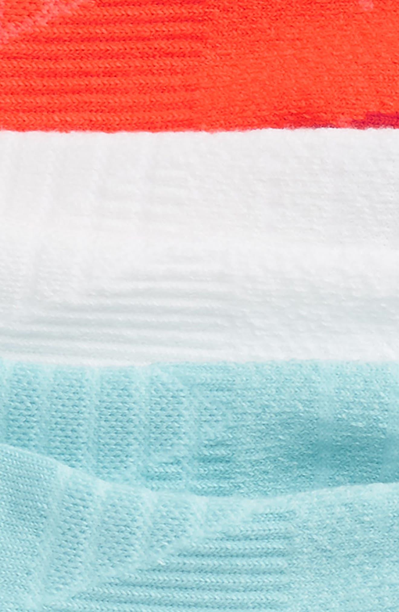 Alternate Image 2  - Nike 3-Pack Cushioned Dri-FIT No-Show Socks (Big Kid)