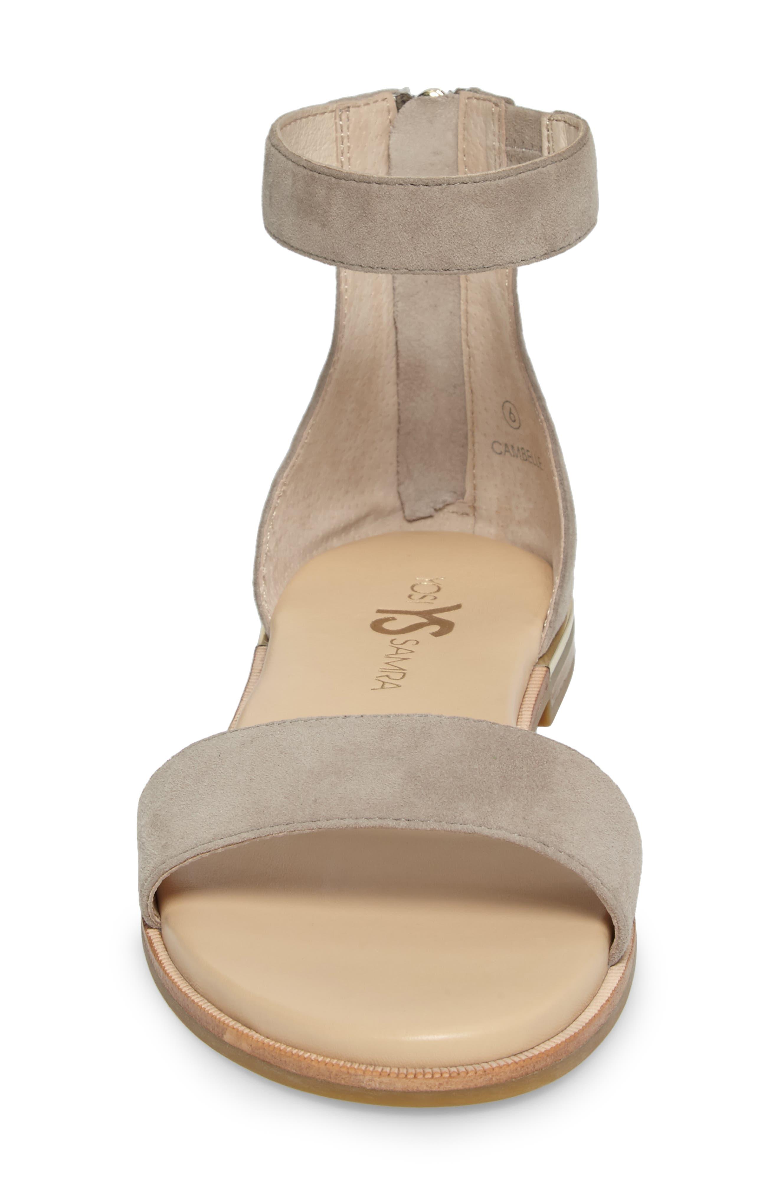 Alternate Image 4  - Yosi Samra 'Cambelle' Ankle Strap Sandal