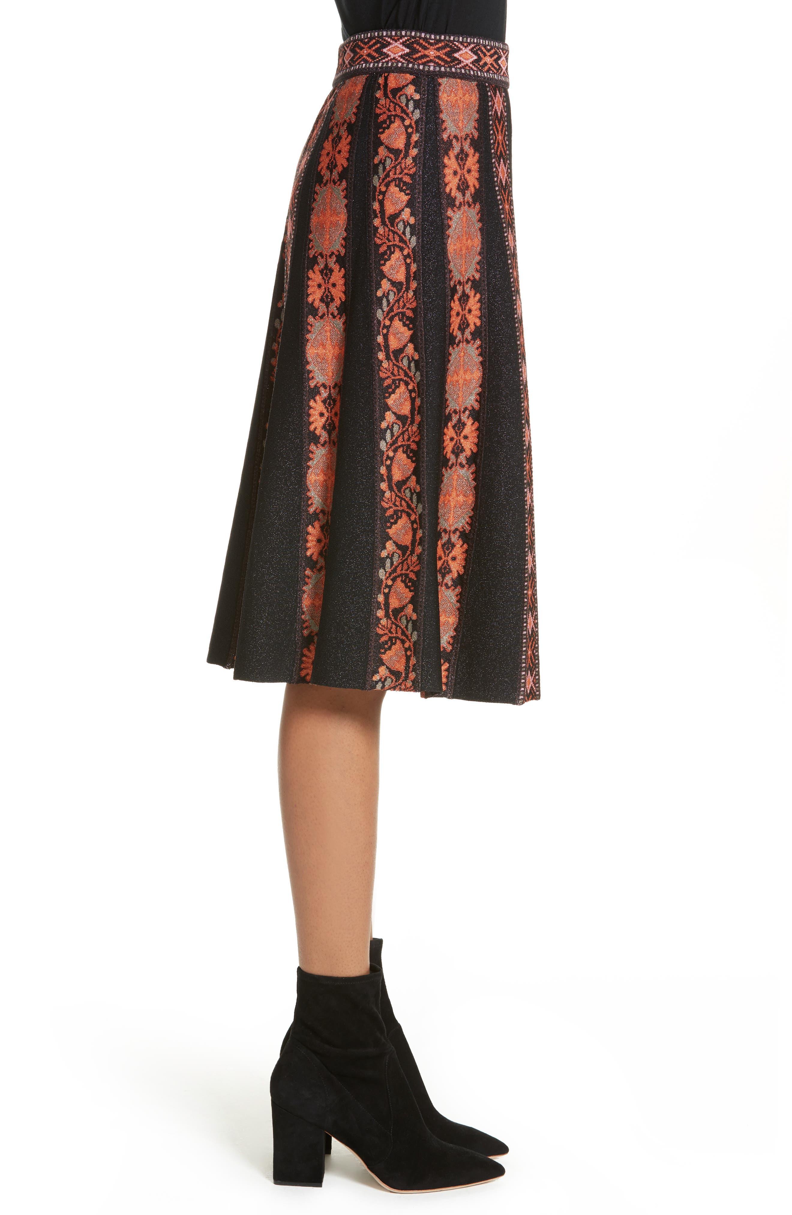 Alternate Image 3  - M Missoni Ribbon Jacquard Skirt
