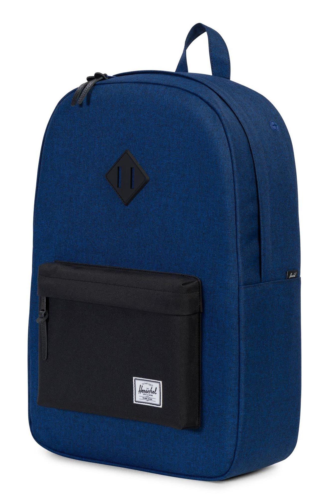 Heritage Backpack,                             Alternate thumbnail 2, color,                             Eclipse Crosshatch/ Black