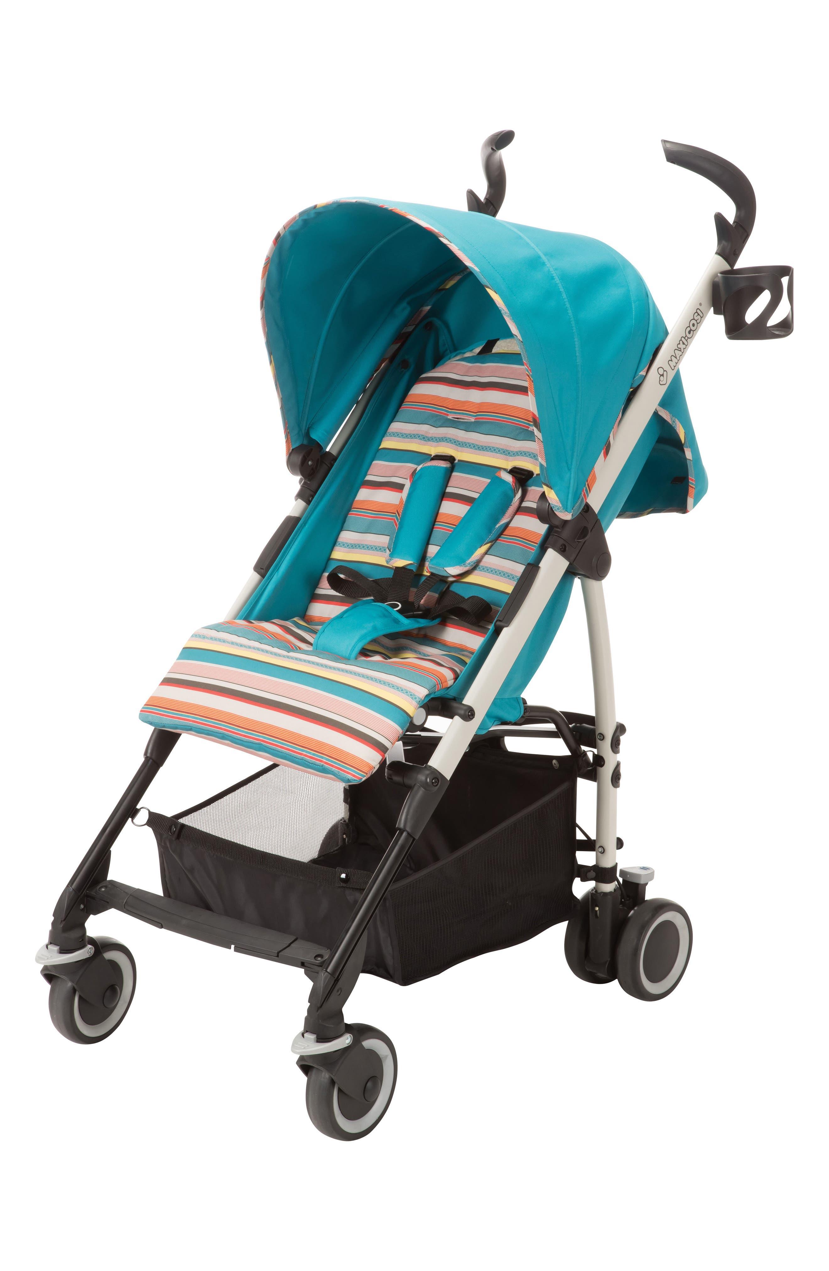 Kaia<sup>™</sup> Compact Stroller,                             Alternate thumbnail 2, color,                             Bohemian Blue