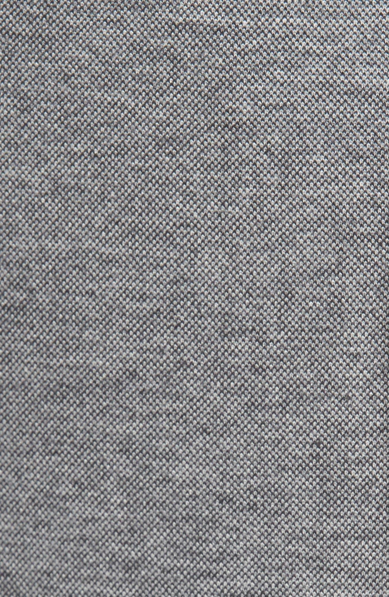 Thompson Knit Blazer,                             Alternate thumbnail 5, color,                             Heather Grey