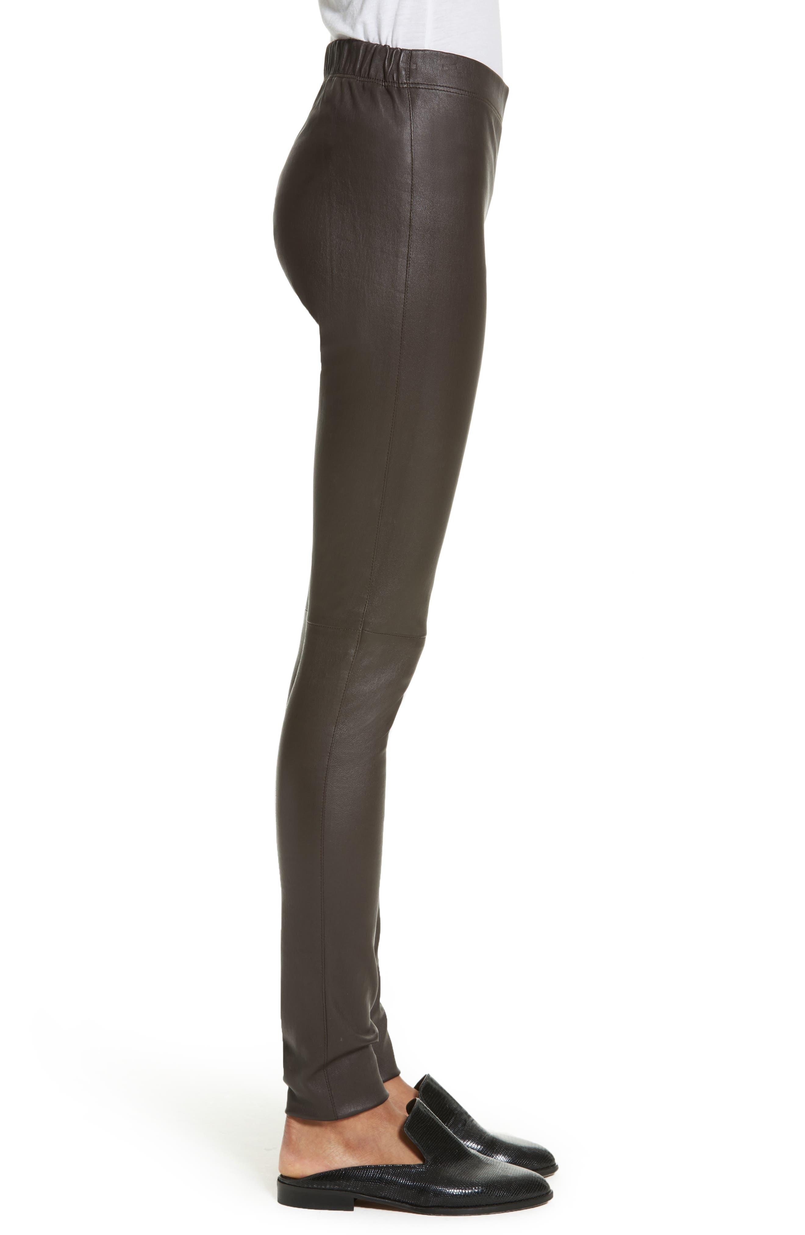 Alternate Image 4  - JOSEPH Stretch Leather Leggings