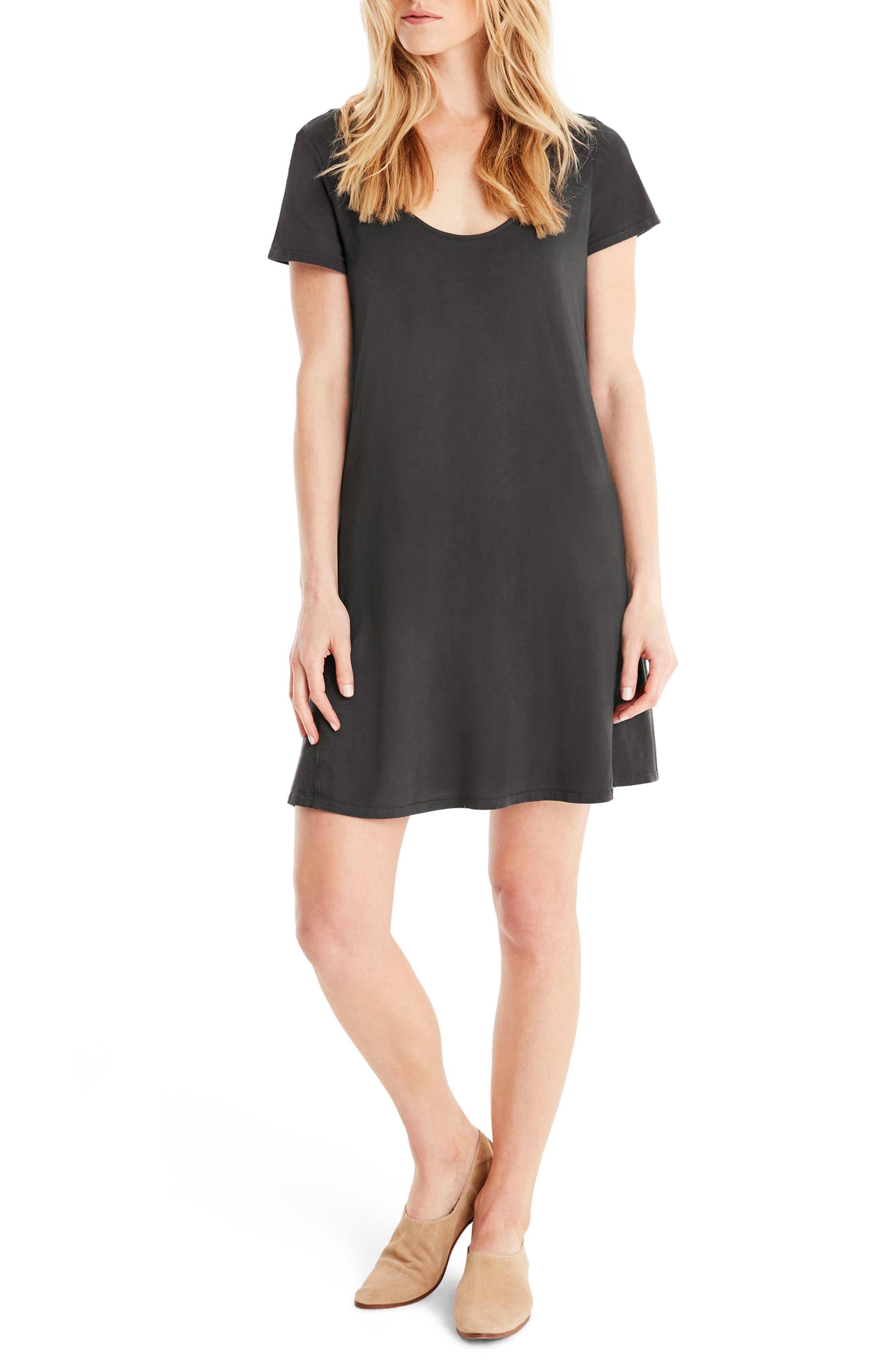 Main Image - Michael Stars A-Line Dress