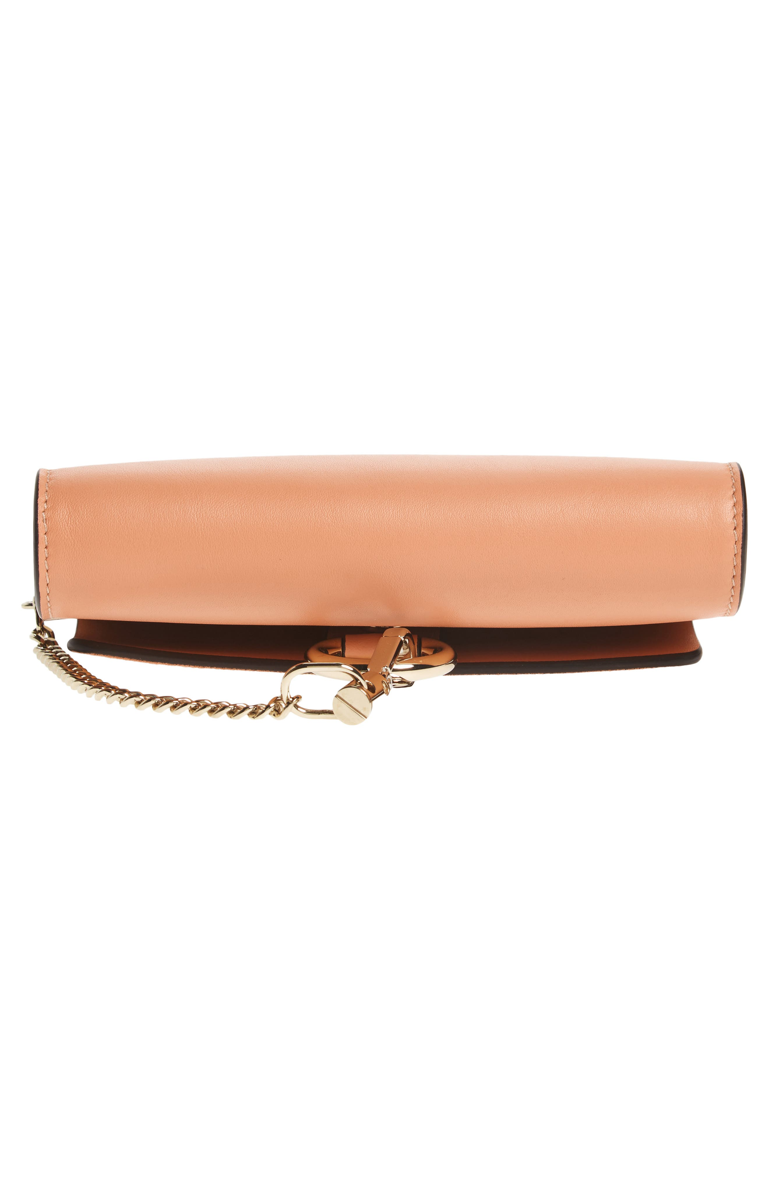 Alternate Image 5  - Chloé Mini Faye Suede & Leather Wallet on a Chain