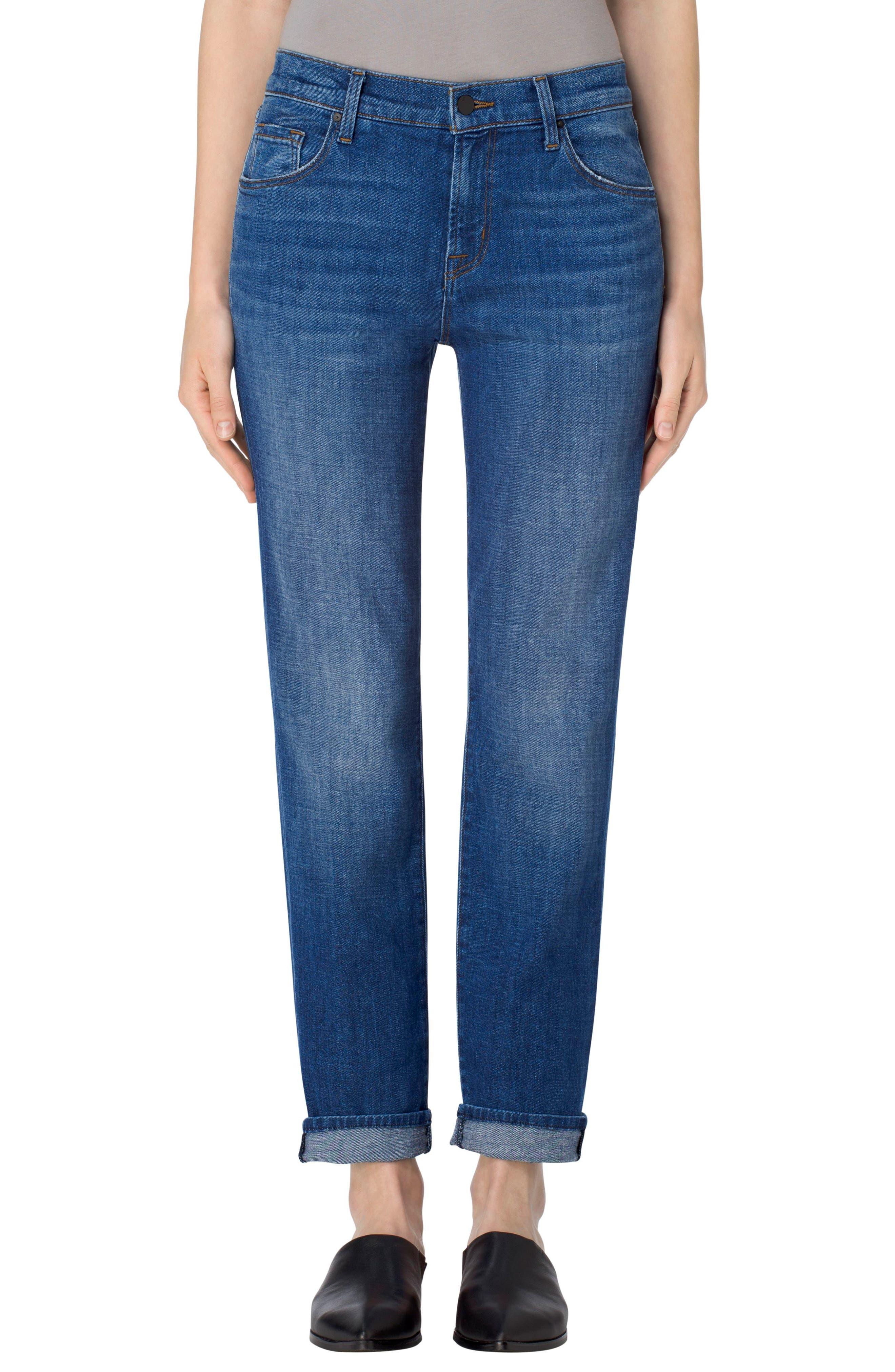Main Image - J Brand Johnny Boyfriend Jeans