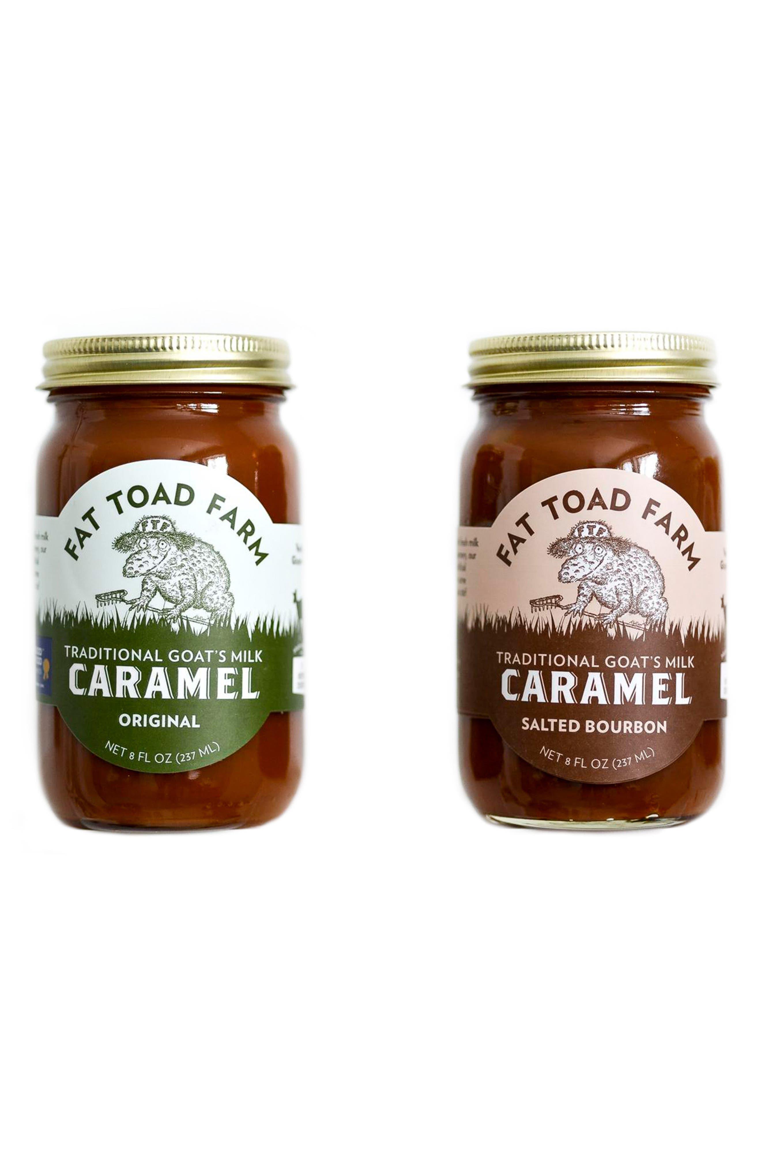 Alternate Image 1 Selected - Fat Toad Farm Classic Goat's Milk Caramel Duo
