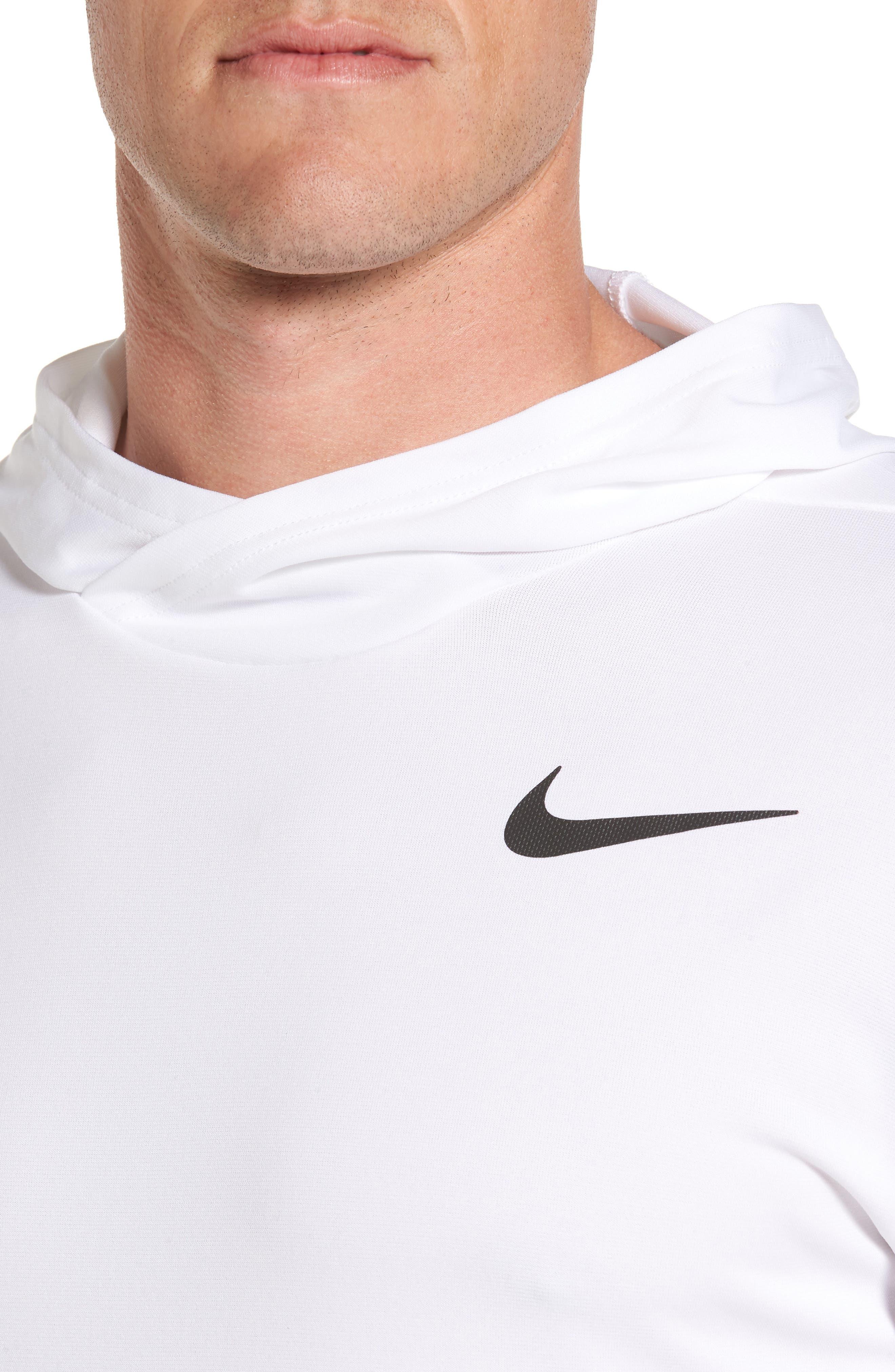 Alternate Image 4  - Nike Hyper Dry Regular Fit Training Hoodie