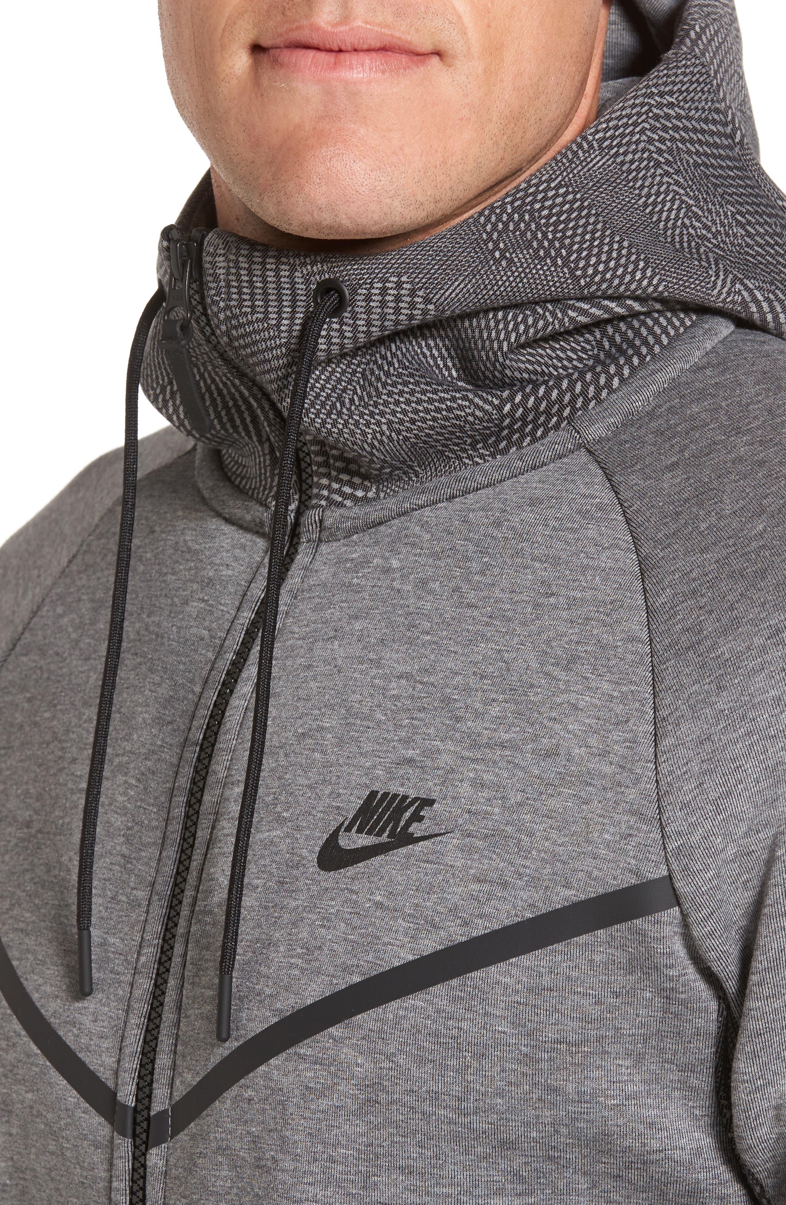 Alternate Image 3  - Nike Sportswear Tech Fleece Windrunner Hoodie