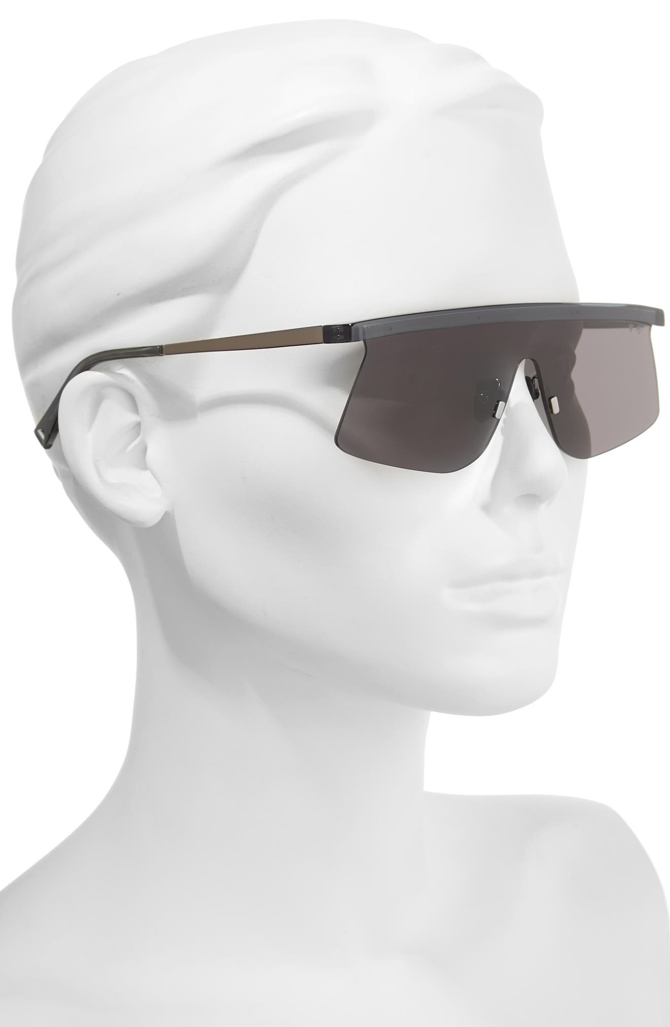 Shade Shield Sunglasses,                             Alternate thumbnail 2, color,                             Crystal Charcoal