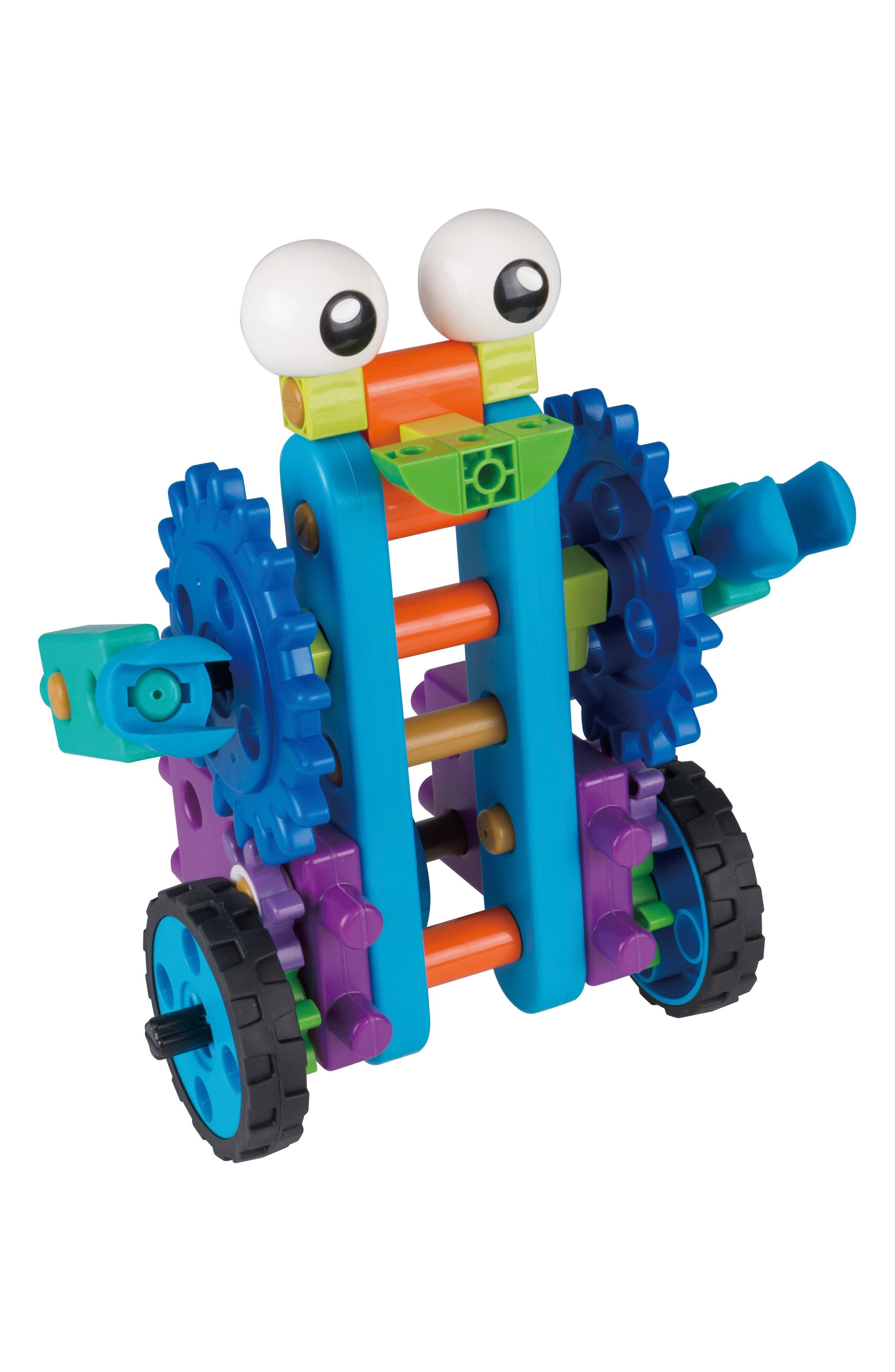 Robot Engineer Building Set & Storybook,                             Alternate thumbnail 4, color,                             Blue