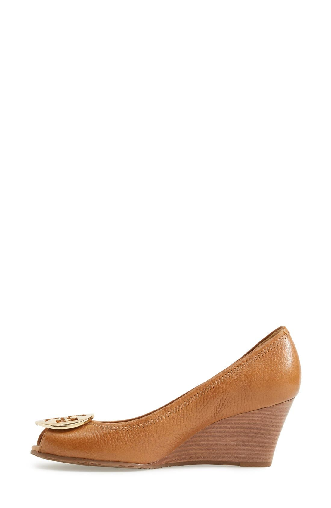 Alternate Image 2  - Tory Burch 'Sally 2' Peep Toe Wedge Pump (Women)
