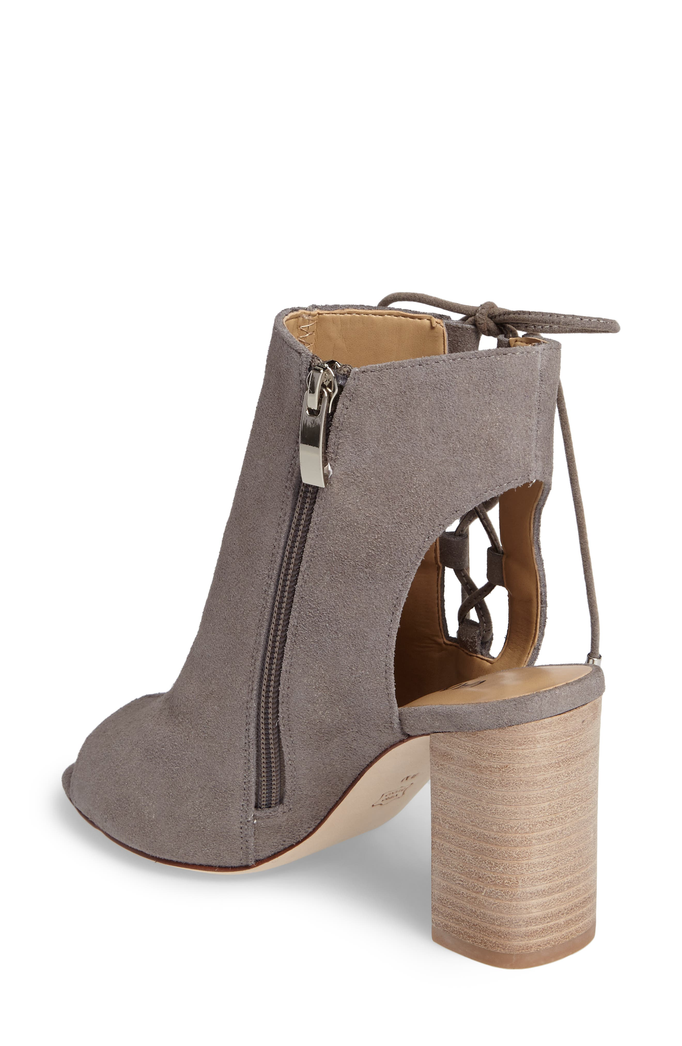 Better Block Heel Sandal,                             Alternate thumbnail 2, color,                             Taupe Rory Suede