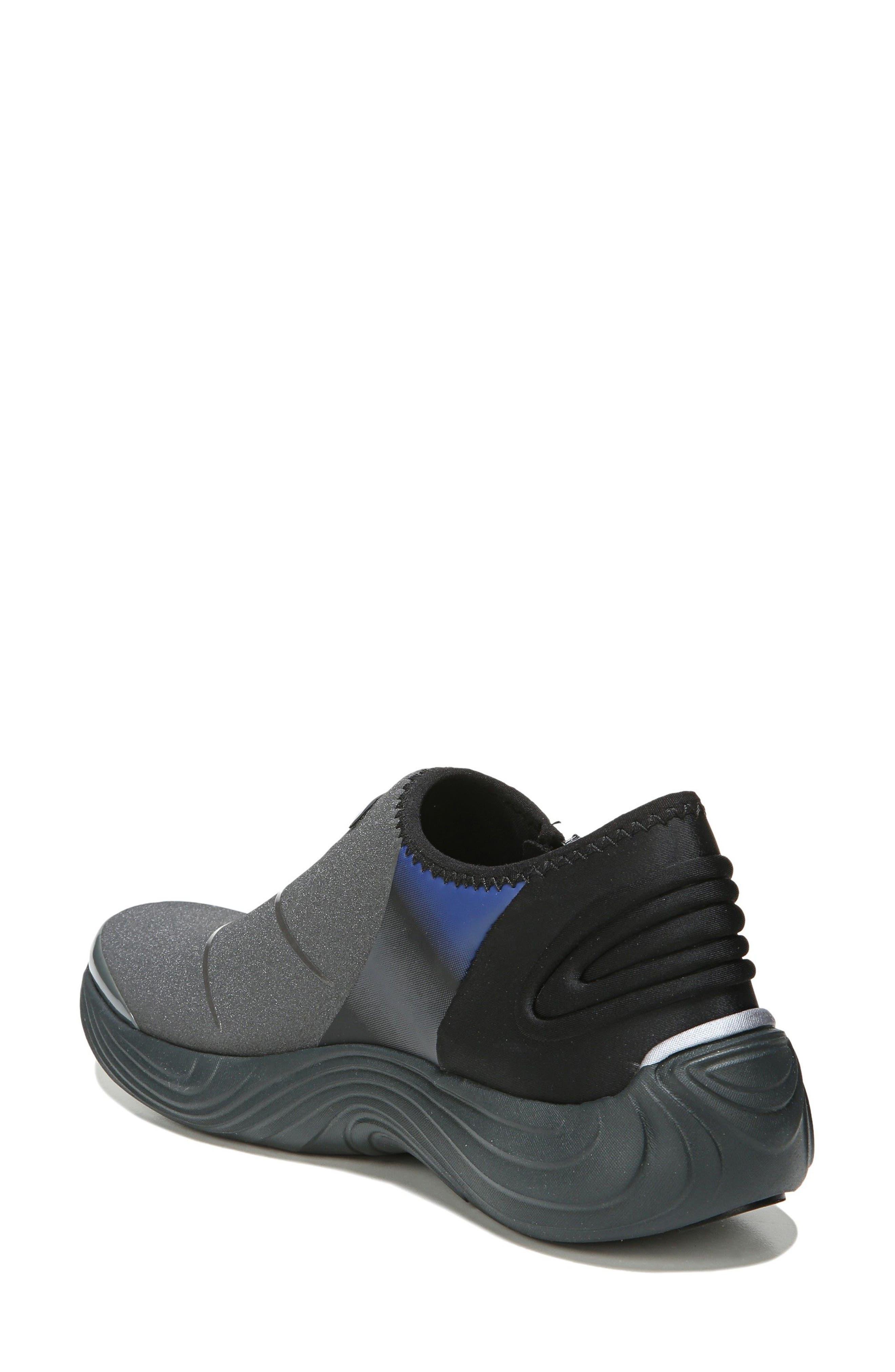 Trilogy Slip-On Sneaker,                             Alternate thumbnail 2, color,                             Grey Fabric