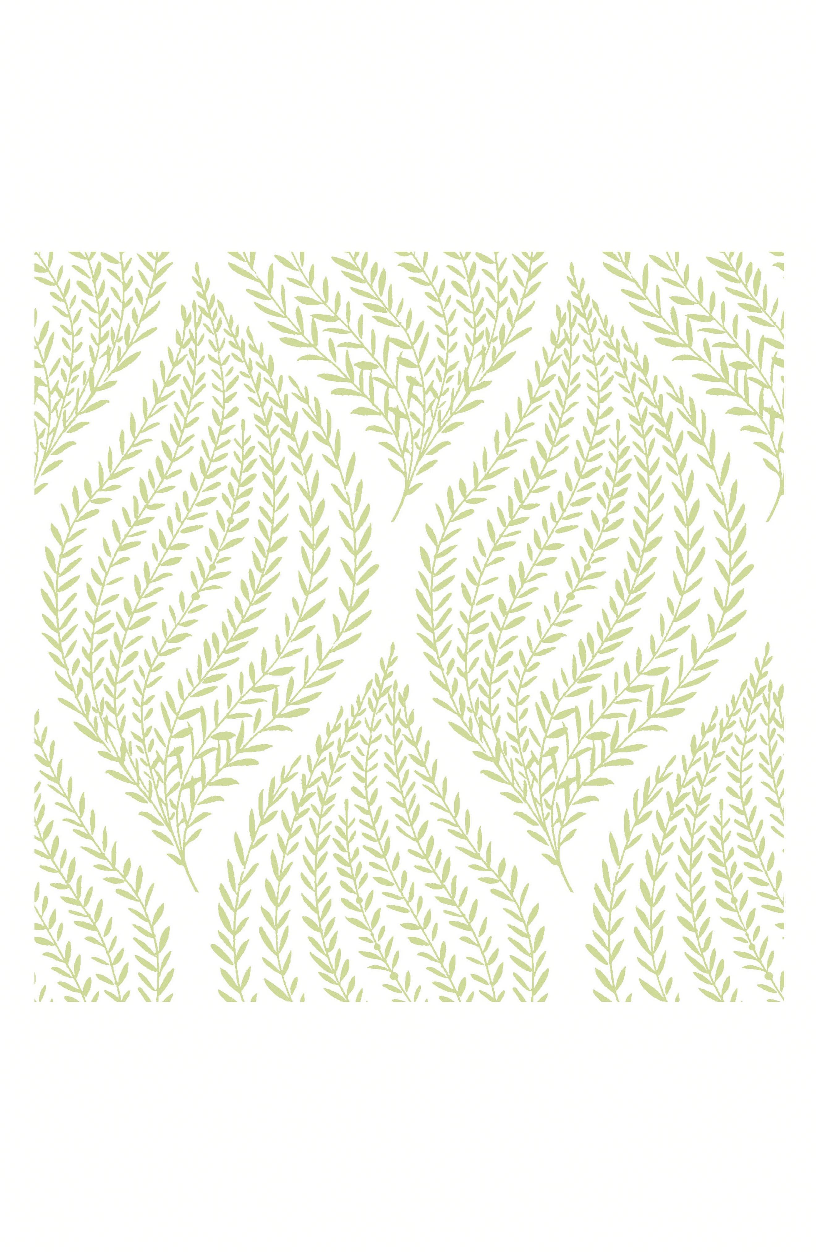 Fern Peel & Stick Vinyl Wallpaper,                         Main,                         color, Green