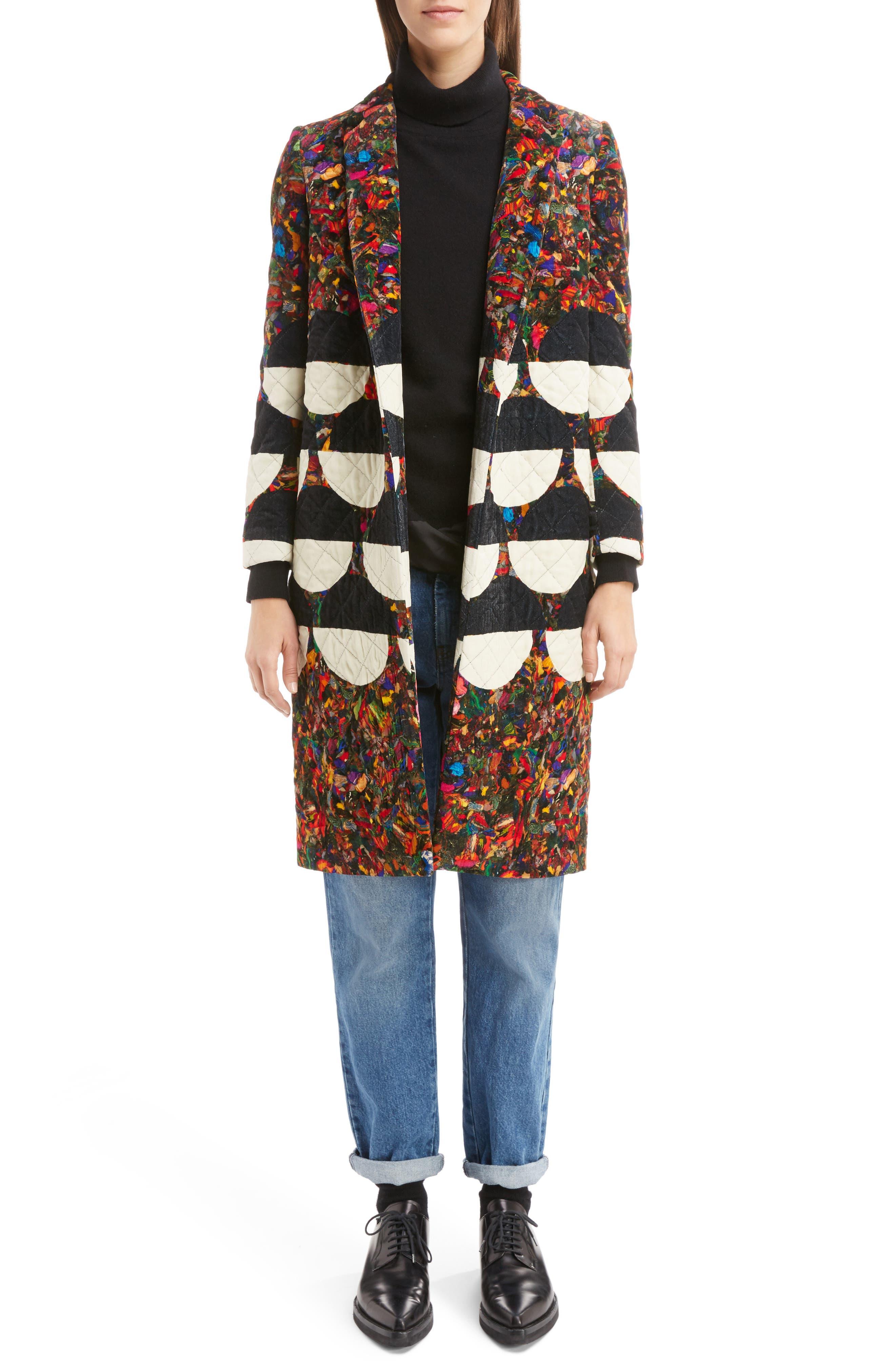 Alternate Image 11  - Dries Van Noten Silk Hem Cashmere Turtleneck Sweater