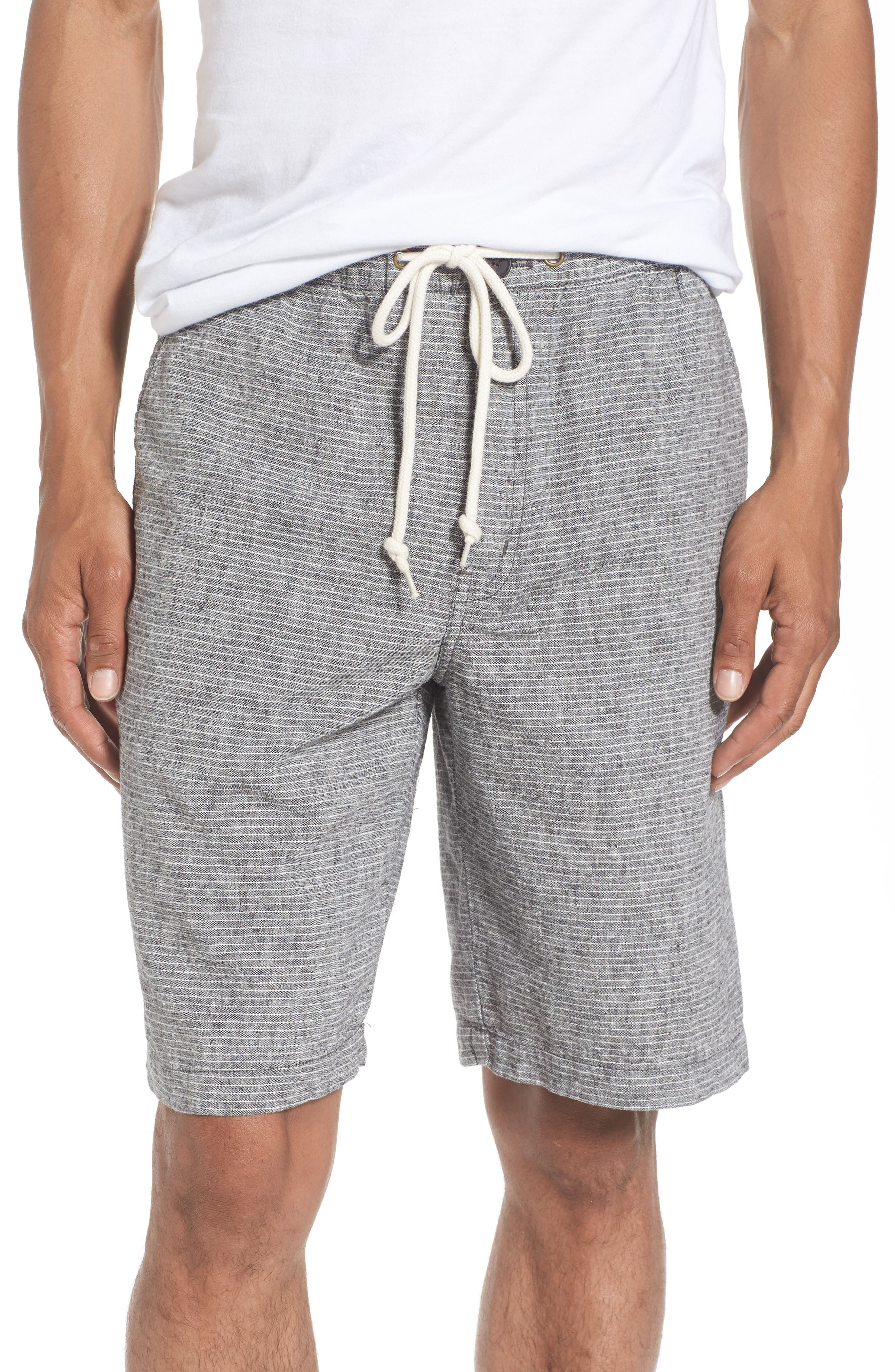 Quiksilver Waterman Collection Bahiadays Linen Blend Shorts