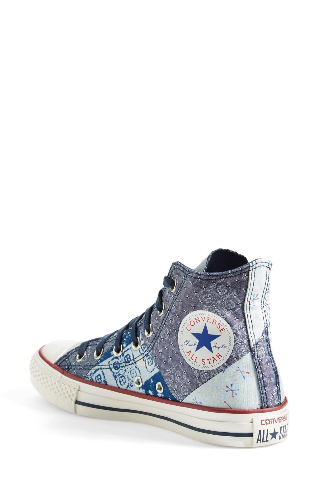 Alternate Image 2  - Converse Chuck Taylor® All Star® 'Multi Bandana' High Top Sneaker (Women)