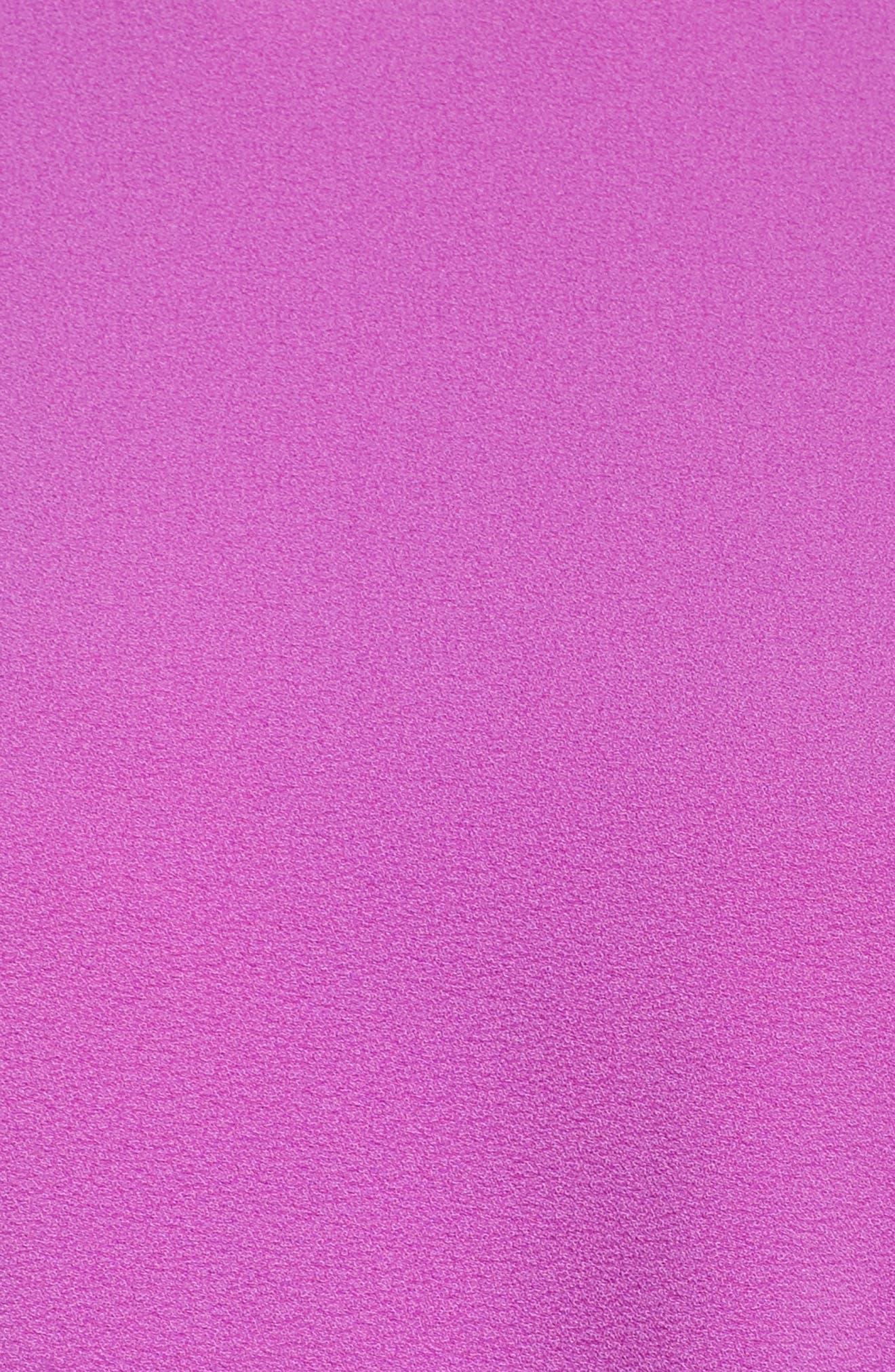 Dara Shift Dress,                             Alternate thumbnail 5, color,                             Violet