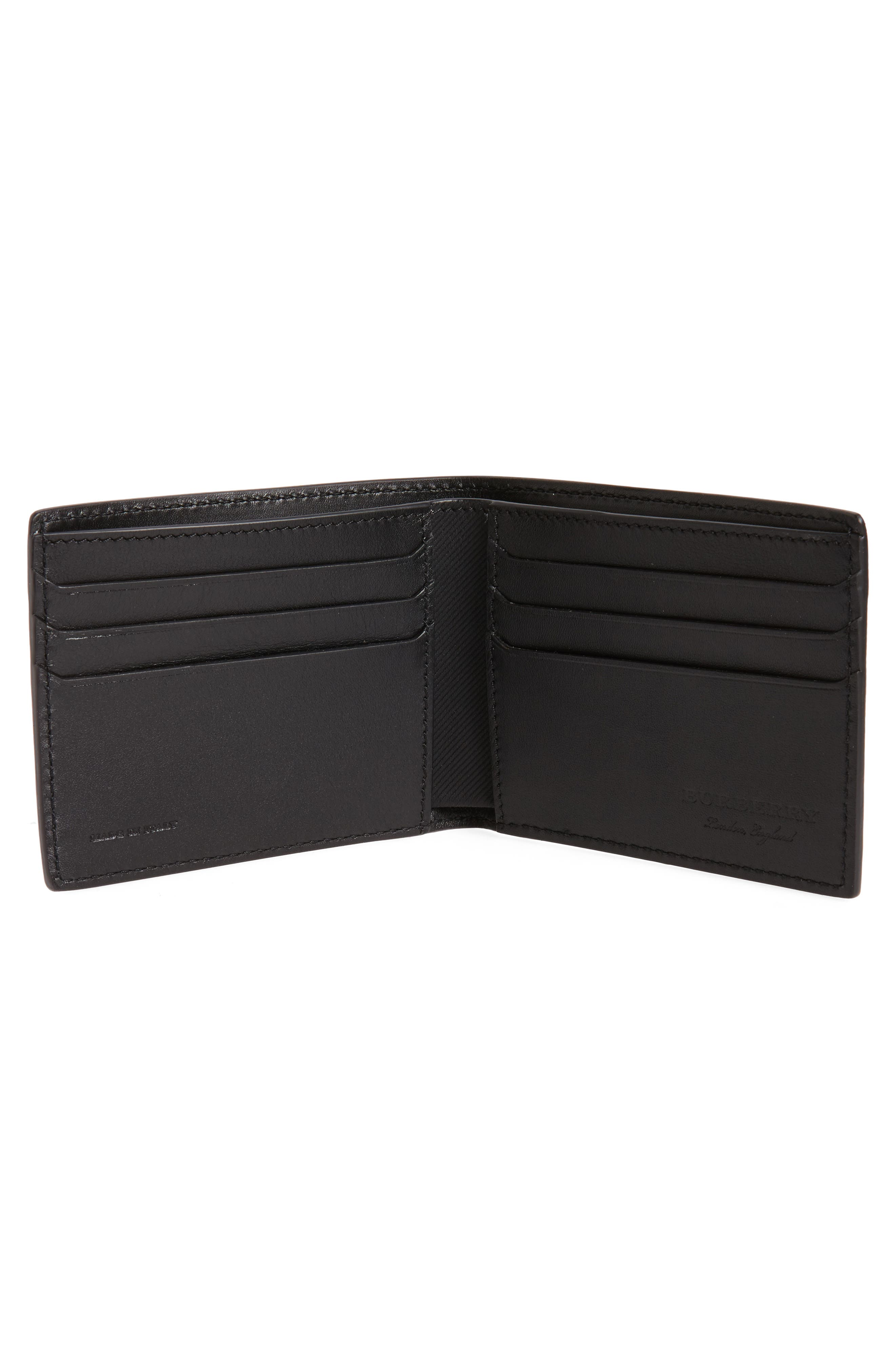 Alternate Image 2  - Burberry Leather Bifold Wallet