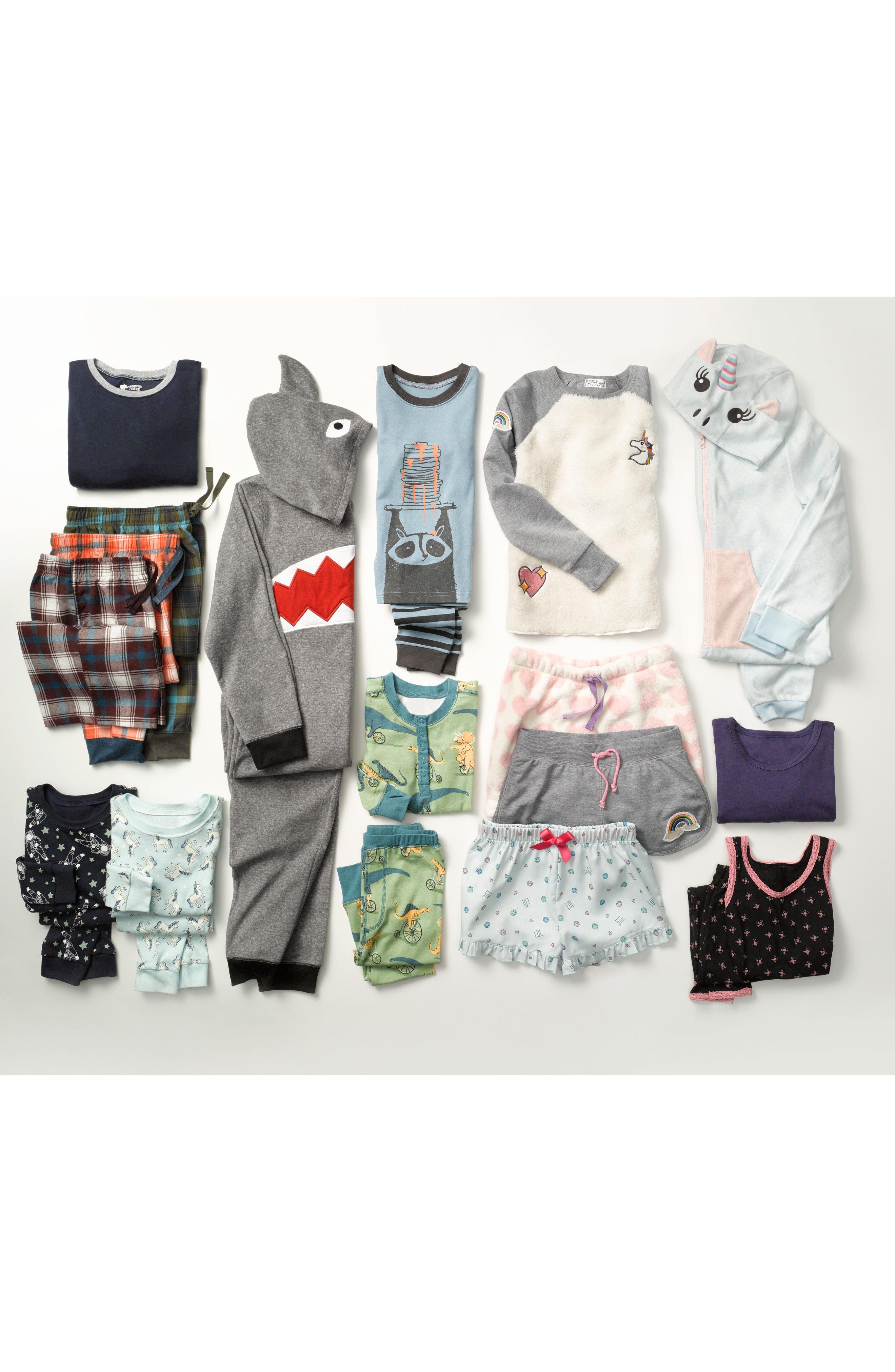 Alternate Image 4  - Tucker + Tate Shark One-Piece Pajamas (Little Boys & Big Boys)