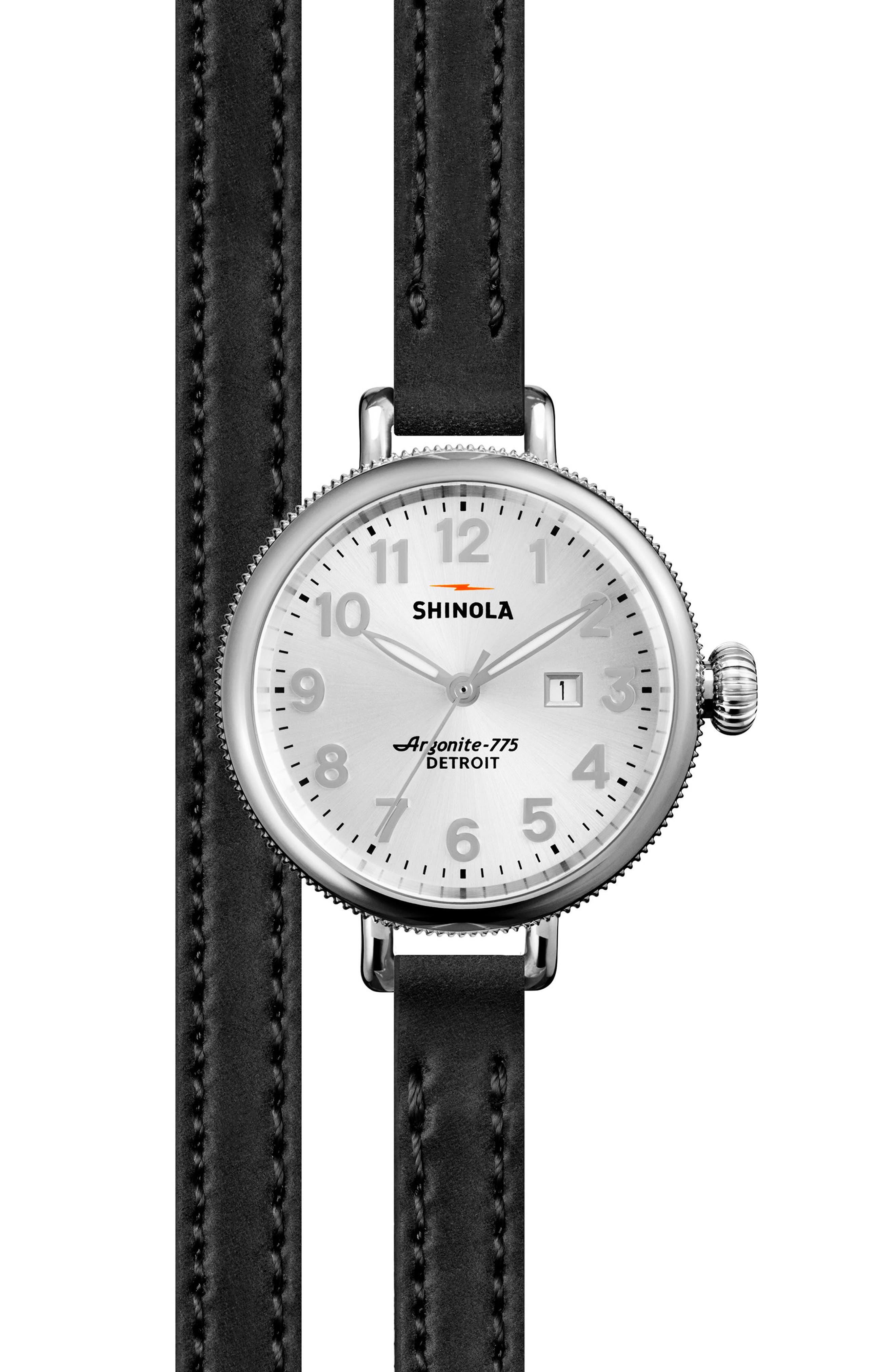 Alternate Image 2  - Shinola The Birdy Watch Gift Set, 34mm