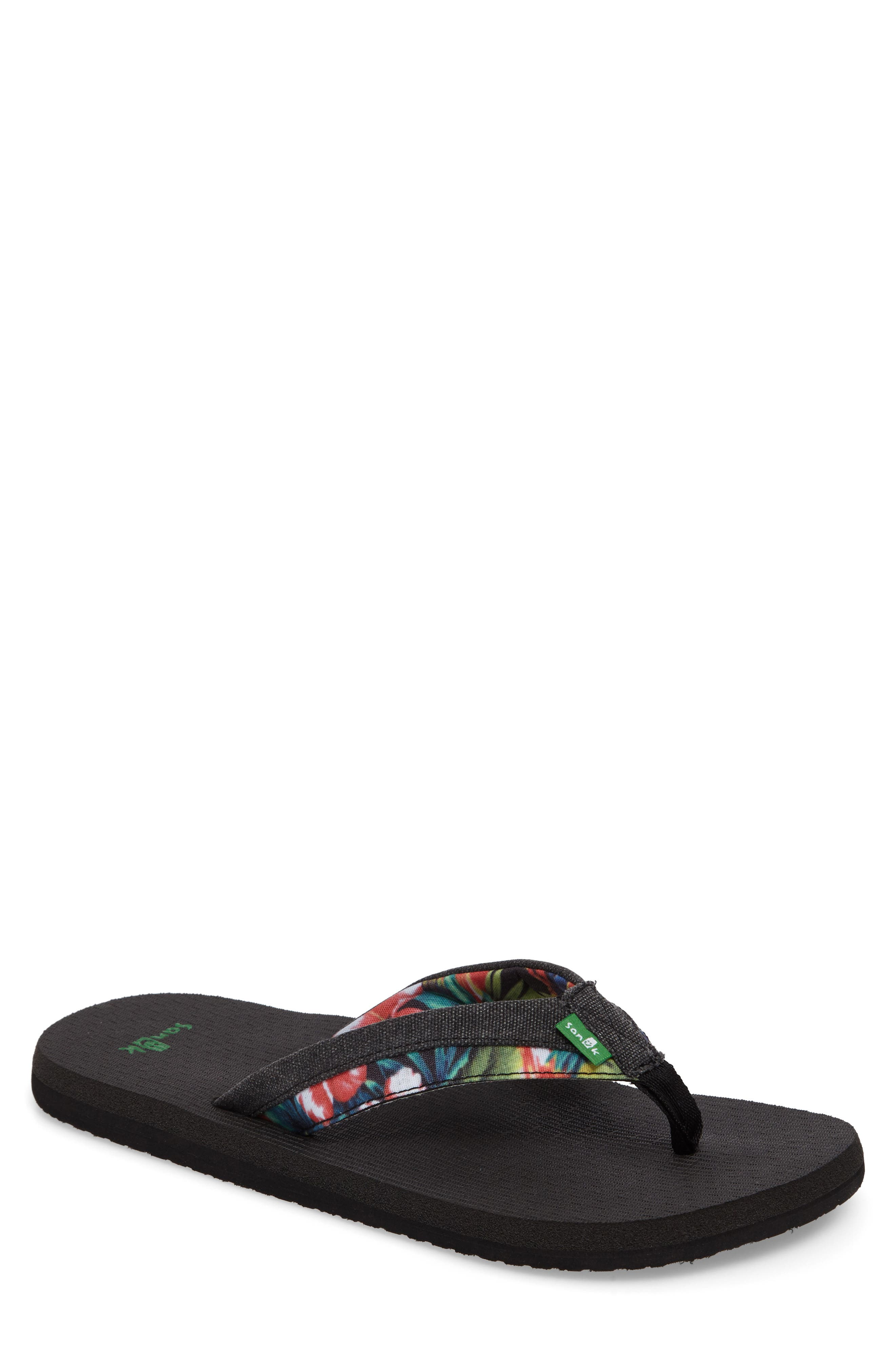 Sanuk Beer Cozy Light Funk Flip Flop (Men)