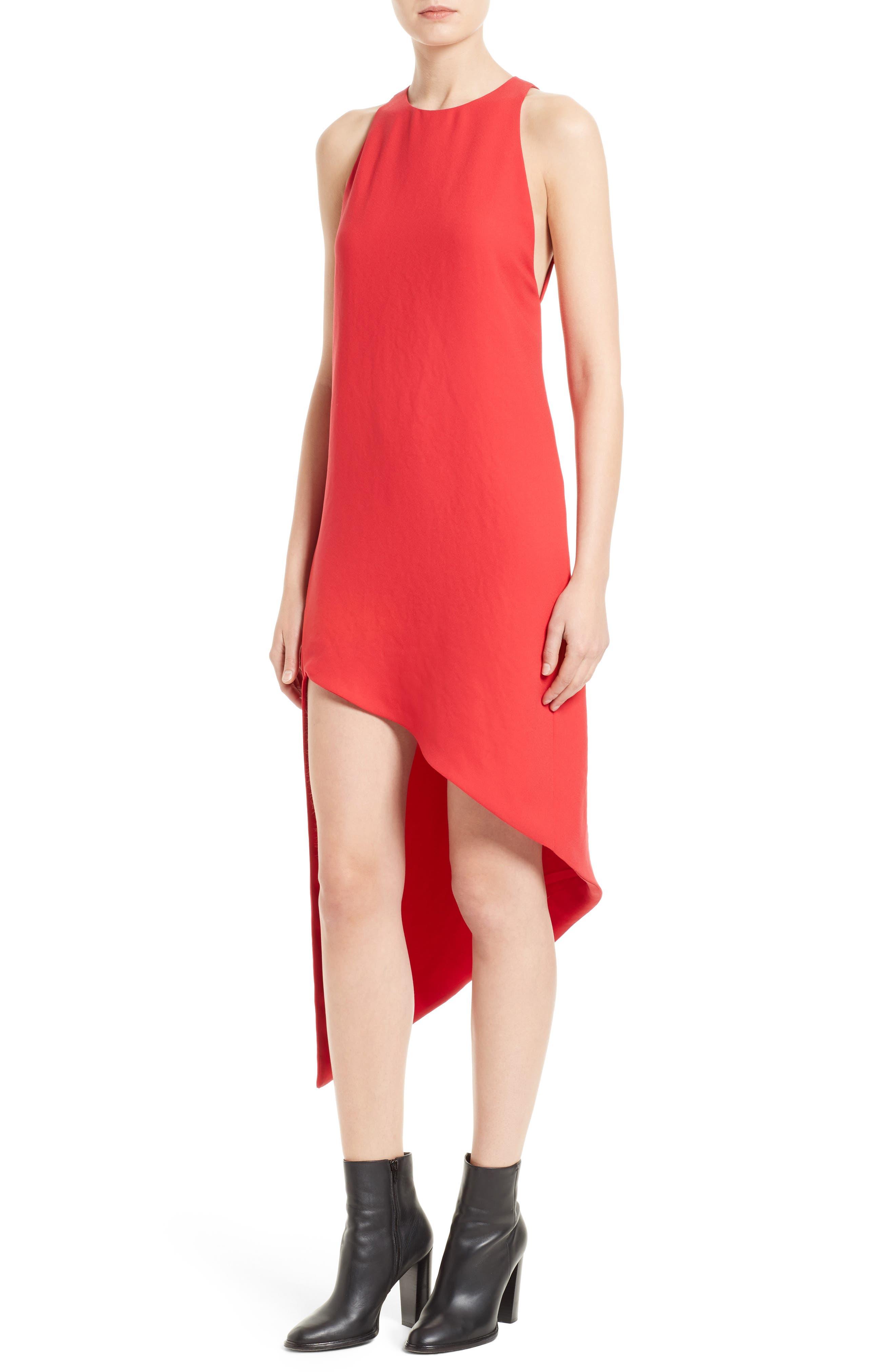 Alternate Image 4  - IRO Hamlin Asymmetrical High/Low Dress